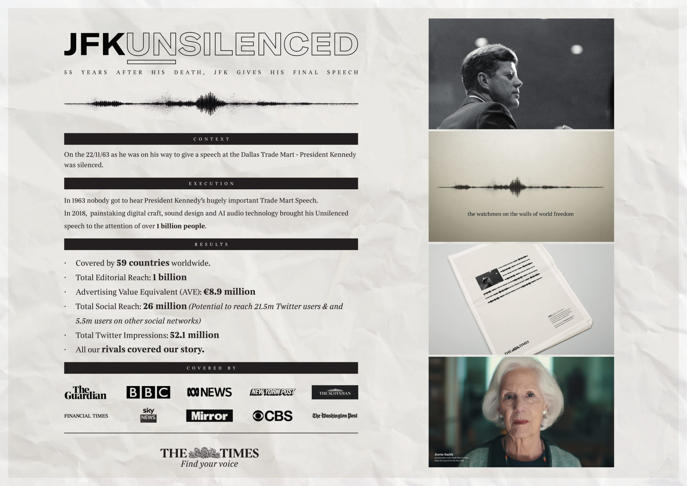 Image Media for JFKunsilenced