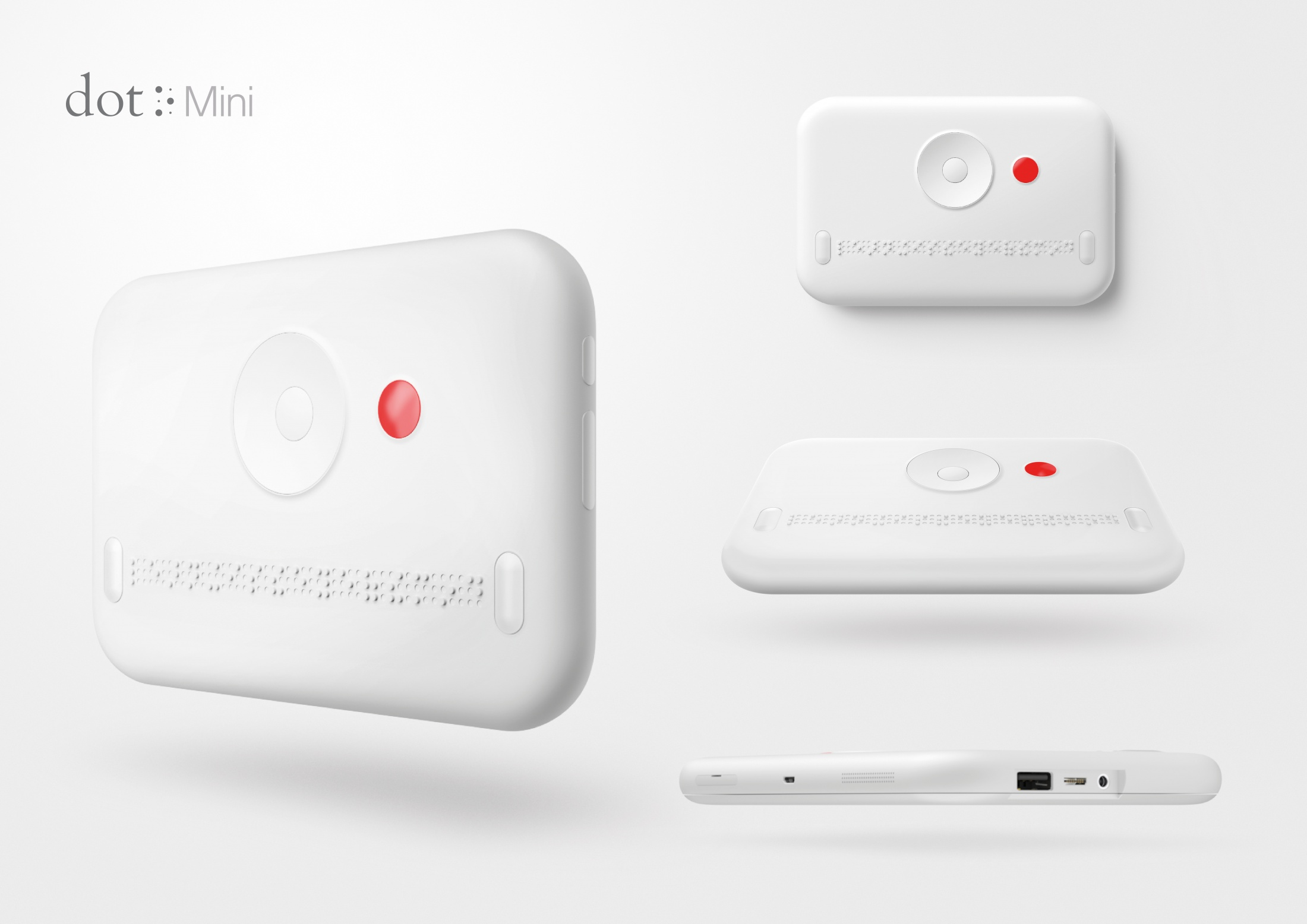 Thumbnail for Dot Mini. The First Smart Media Device for the Visually Impaired.