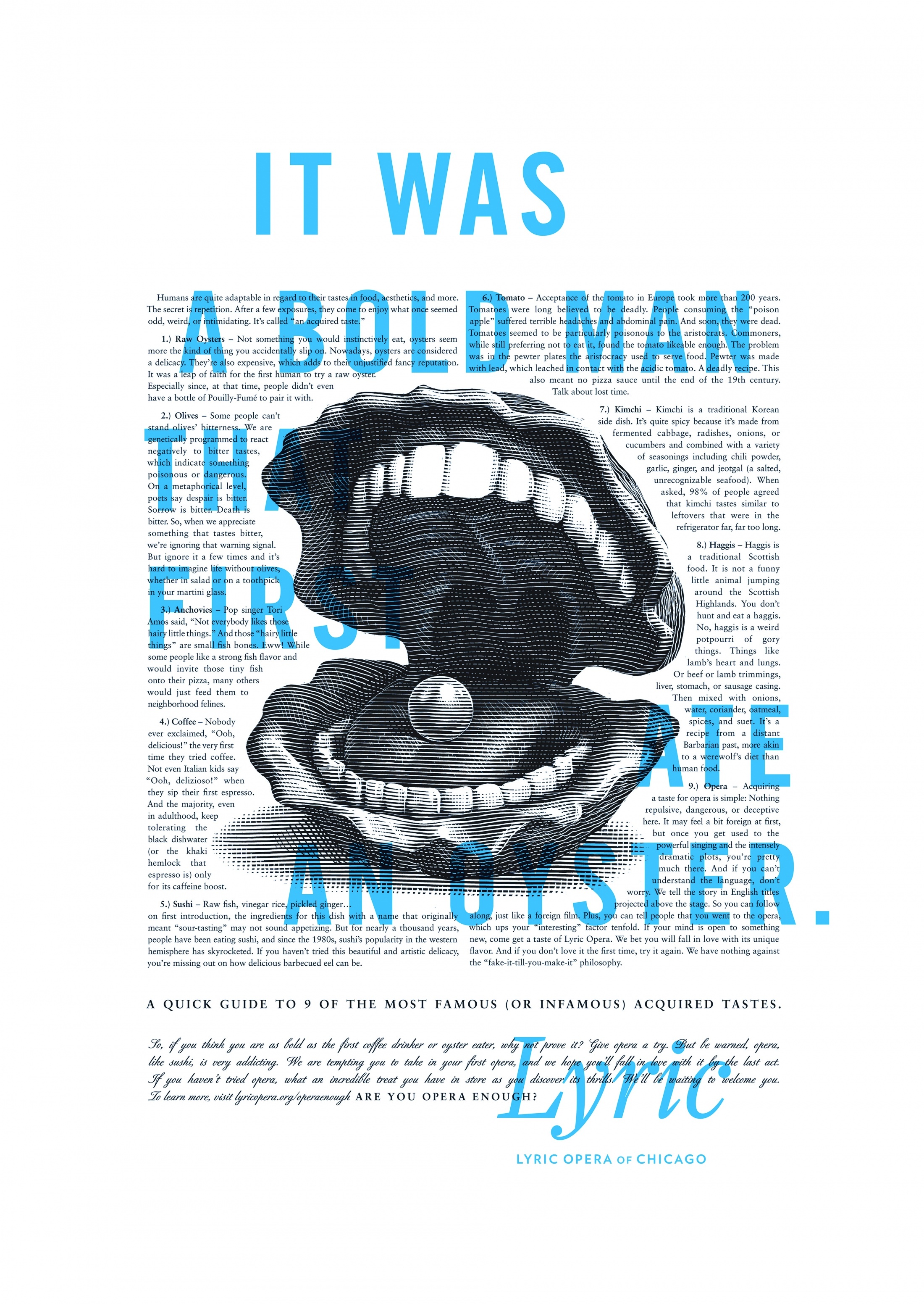 Thumbnail for Lyric Opera Print Campaign: Bold Man