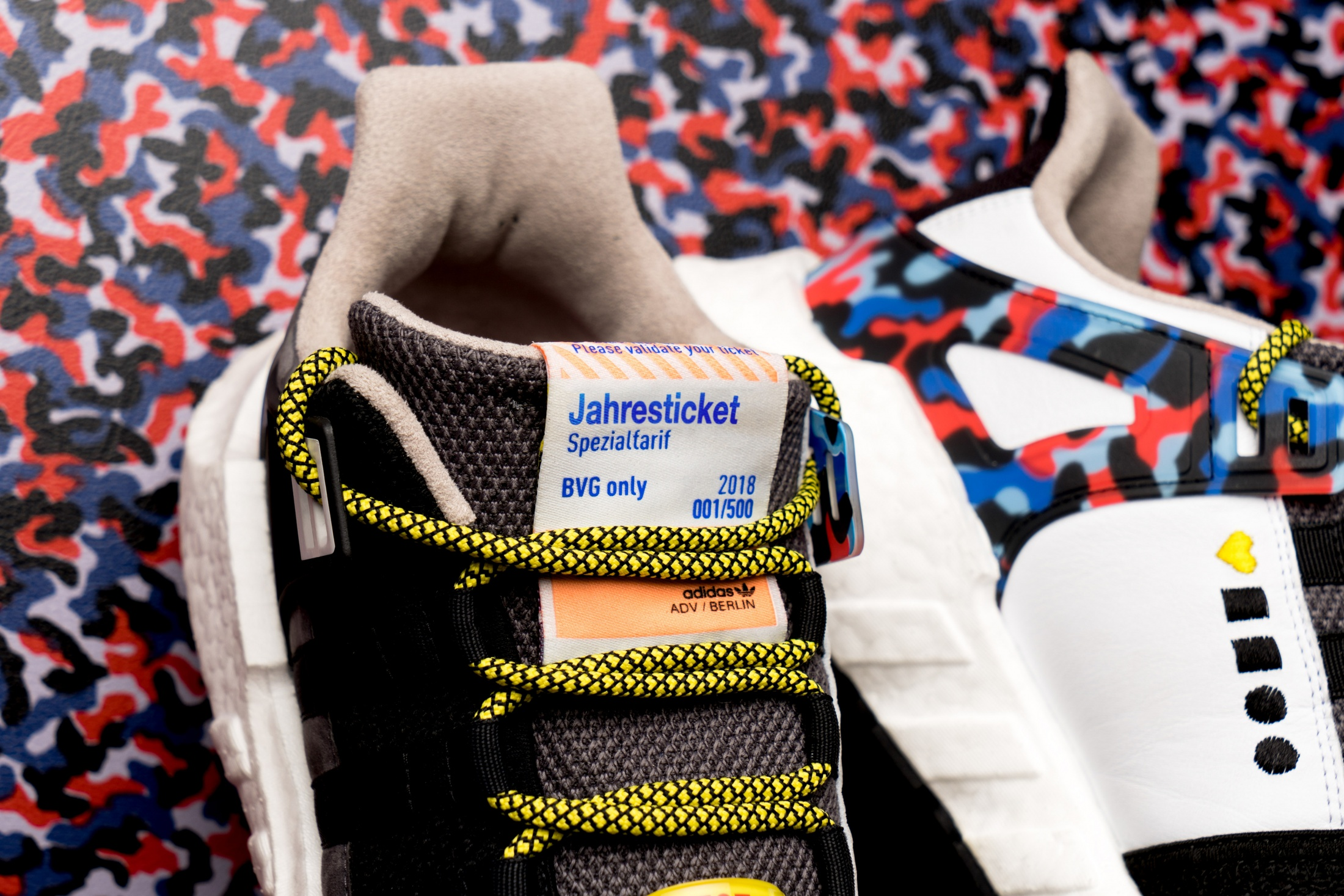 Image Media for BVG x adidas – The ticket-shoe