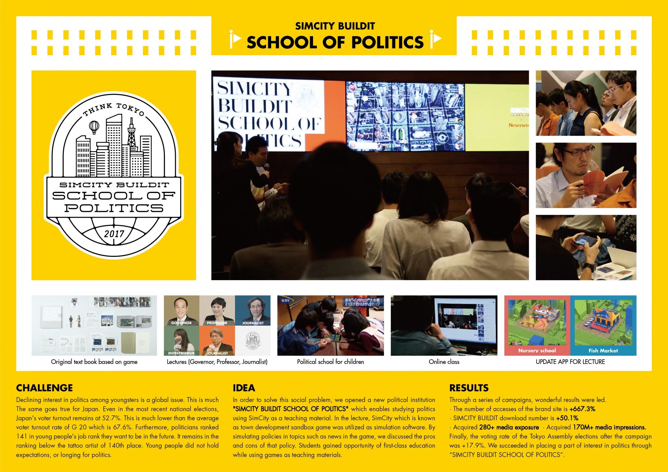 Thumbnail for Simcity Buildit School of Politics