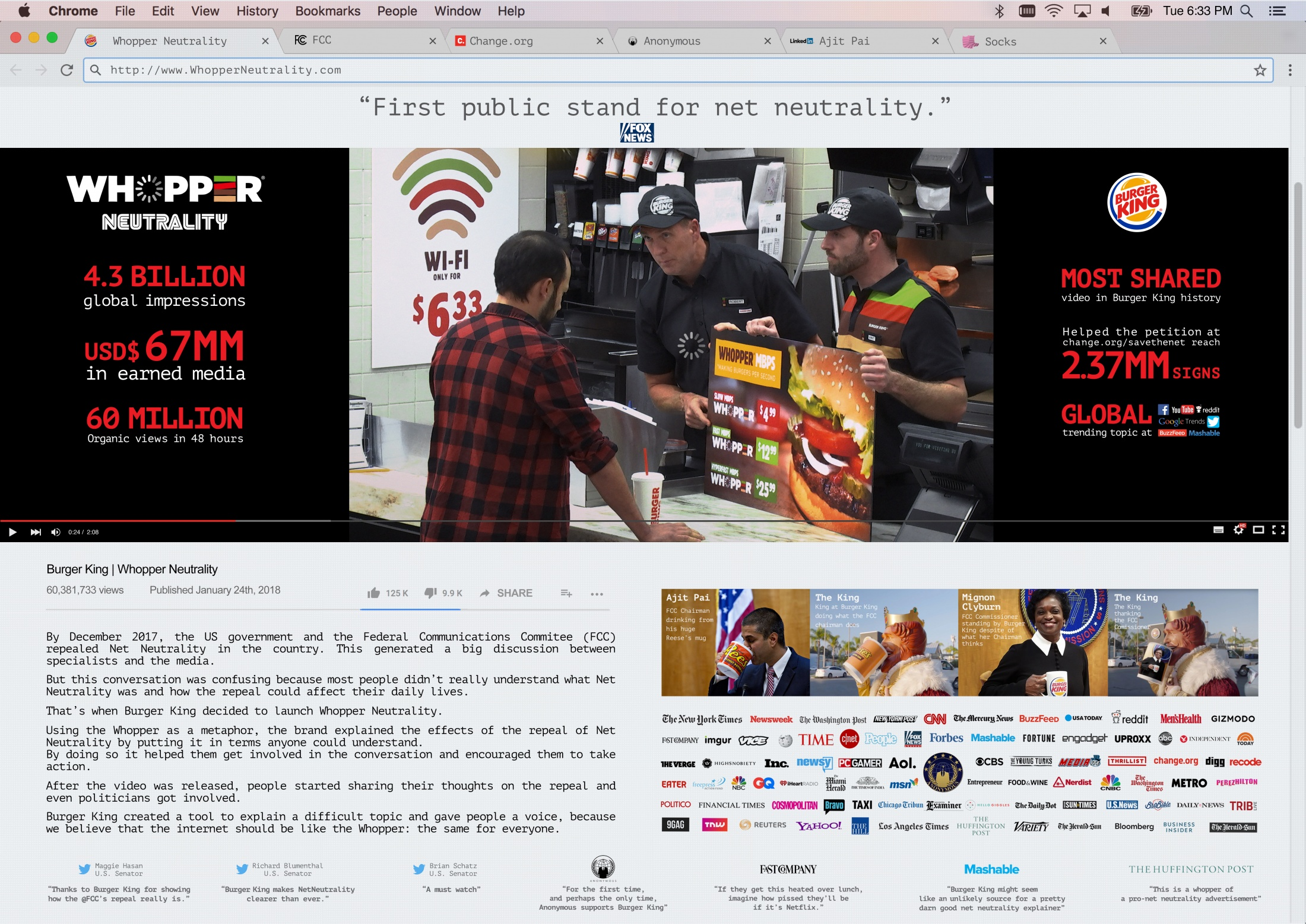 Image Media for WHOPPER NEUTRALITY
