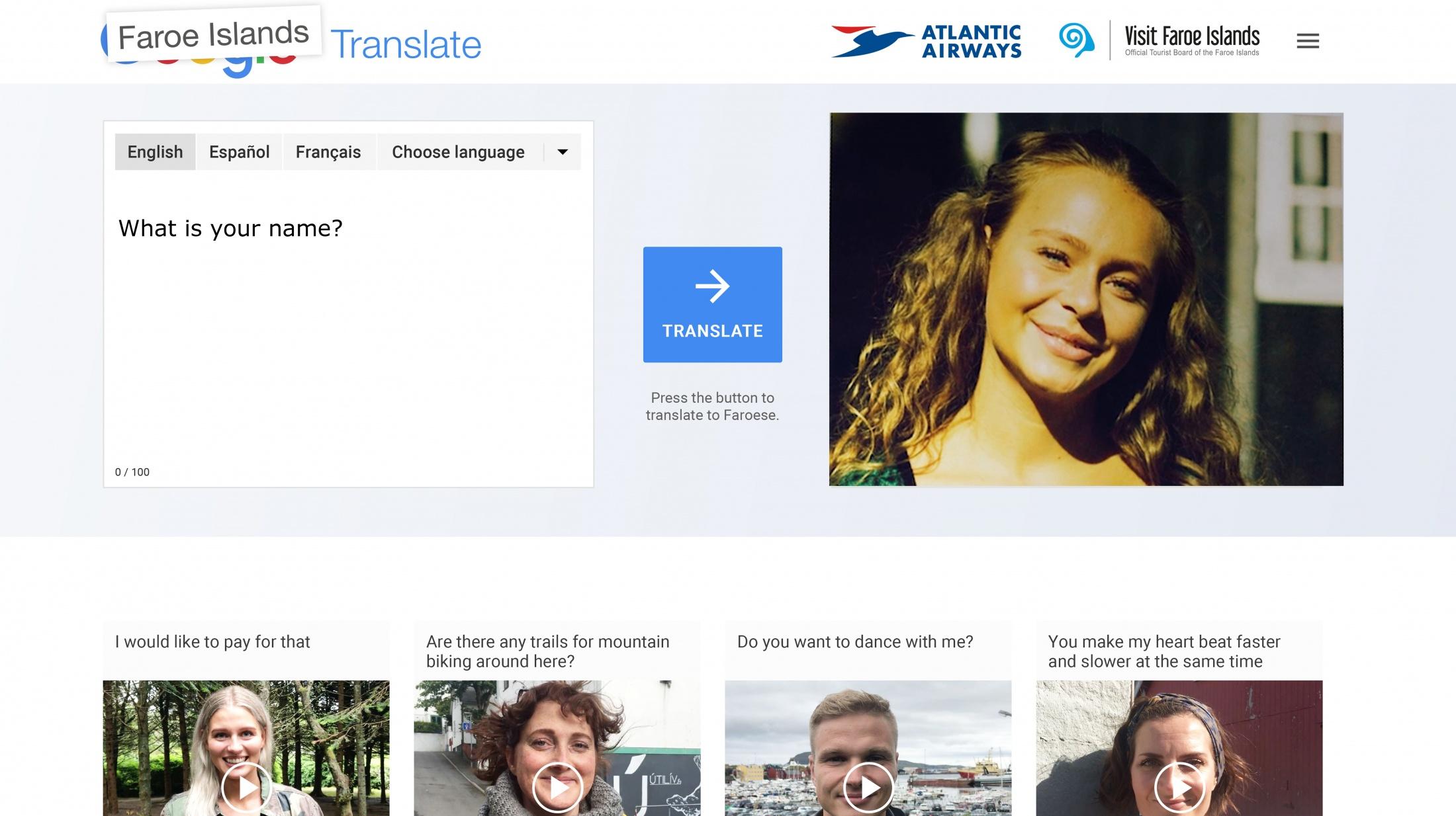 Thumbnail for Faroe Islands Translate
