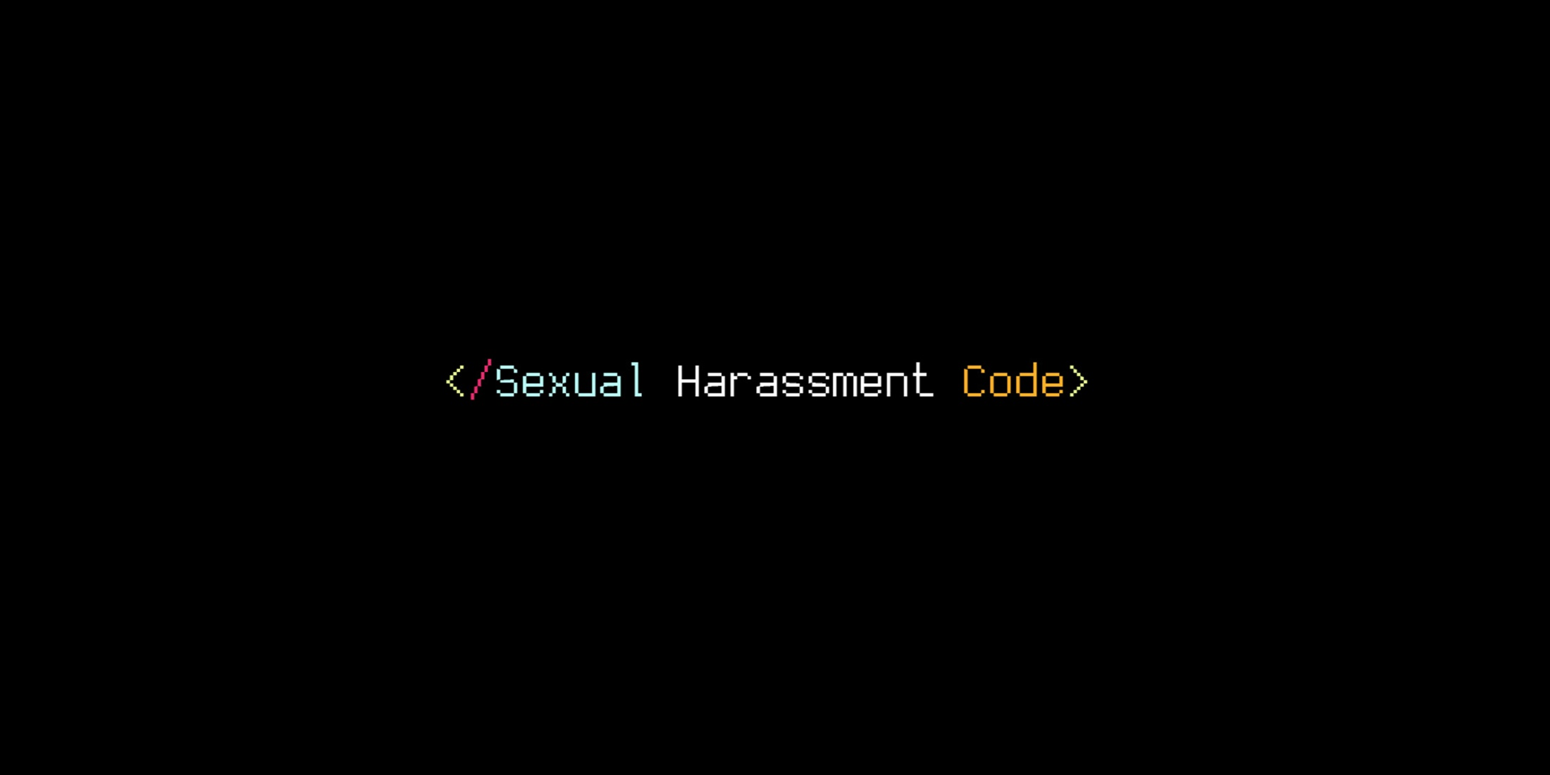 Thumbnail for </Sexual Harassment Code>