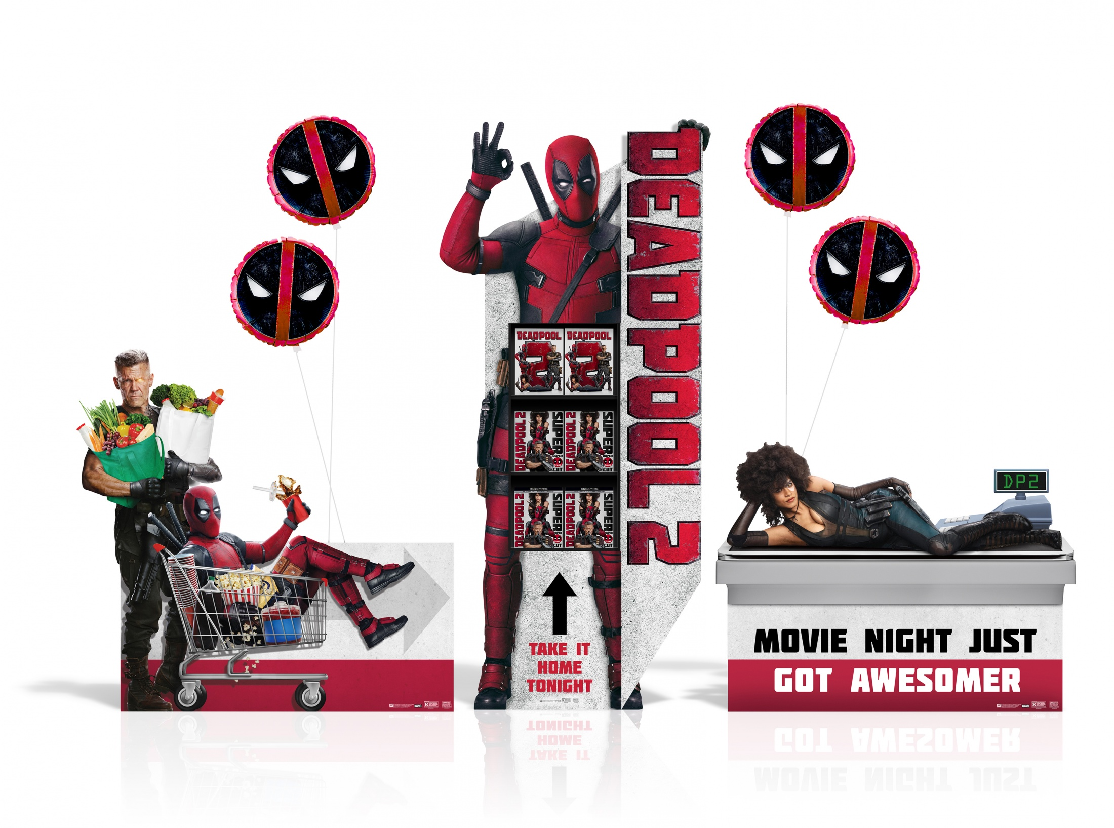 Image Media for DEADPOOL 2 Home Entertainment Display: SSM Event