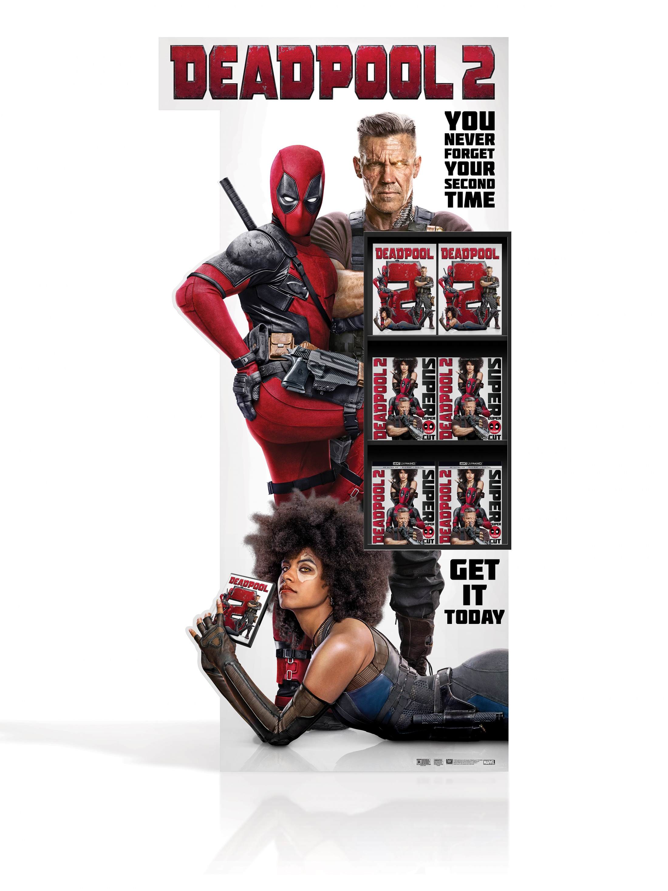 Image Media for DEADPOOL 2 Home Entertainment Display: SSM Non Event