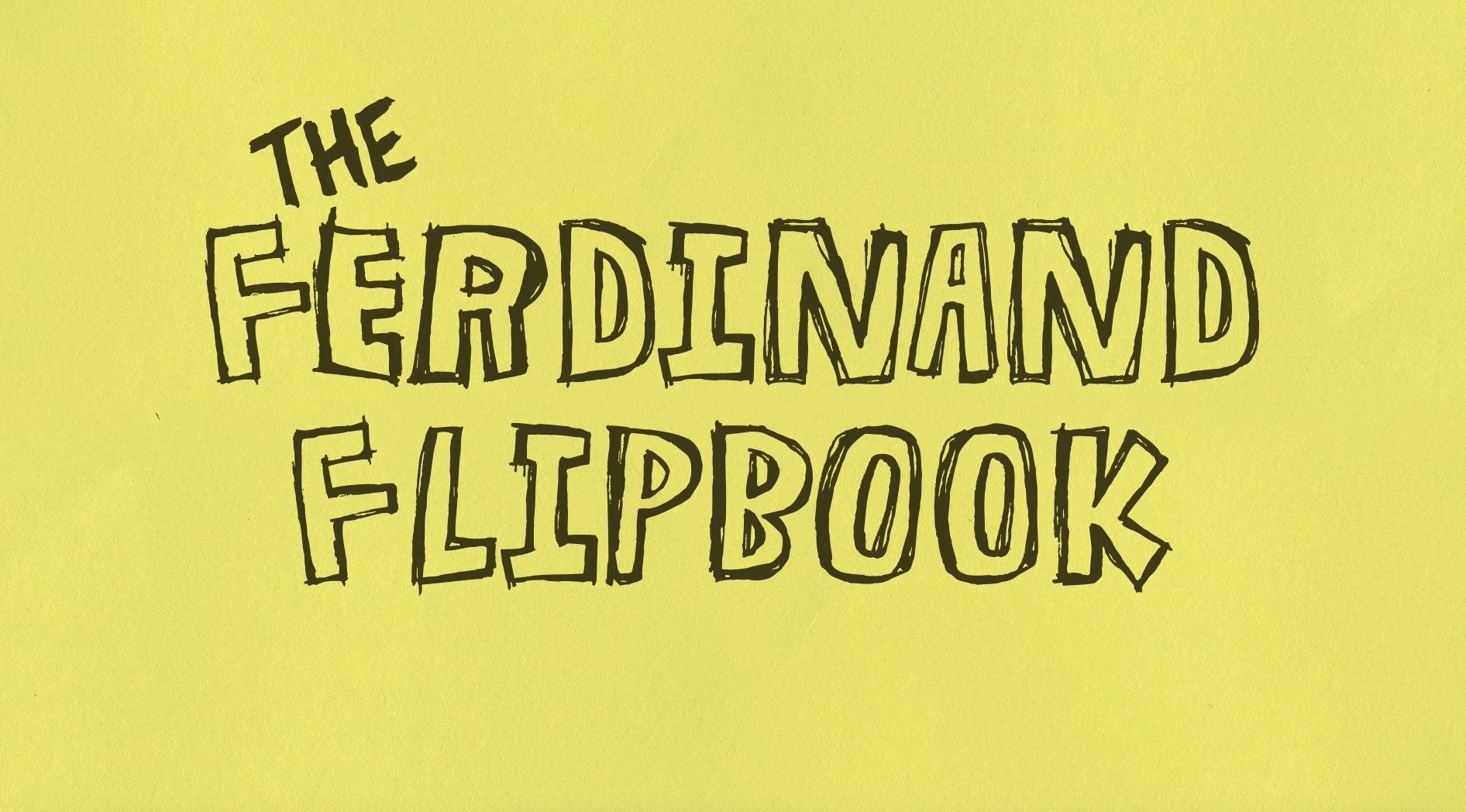 Thumbnail for The Ferdinand Flip Book