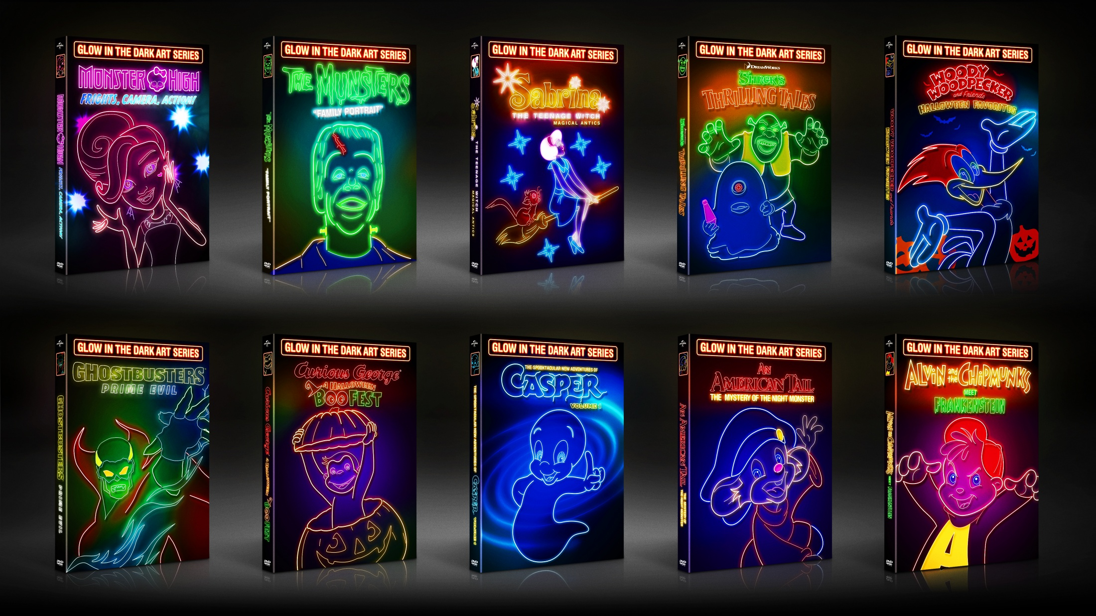 Thumbnail for Glow in the Dark Art Packaging Series