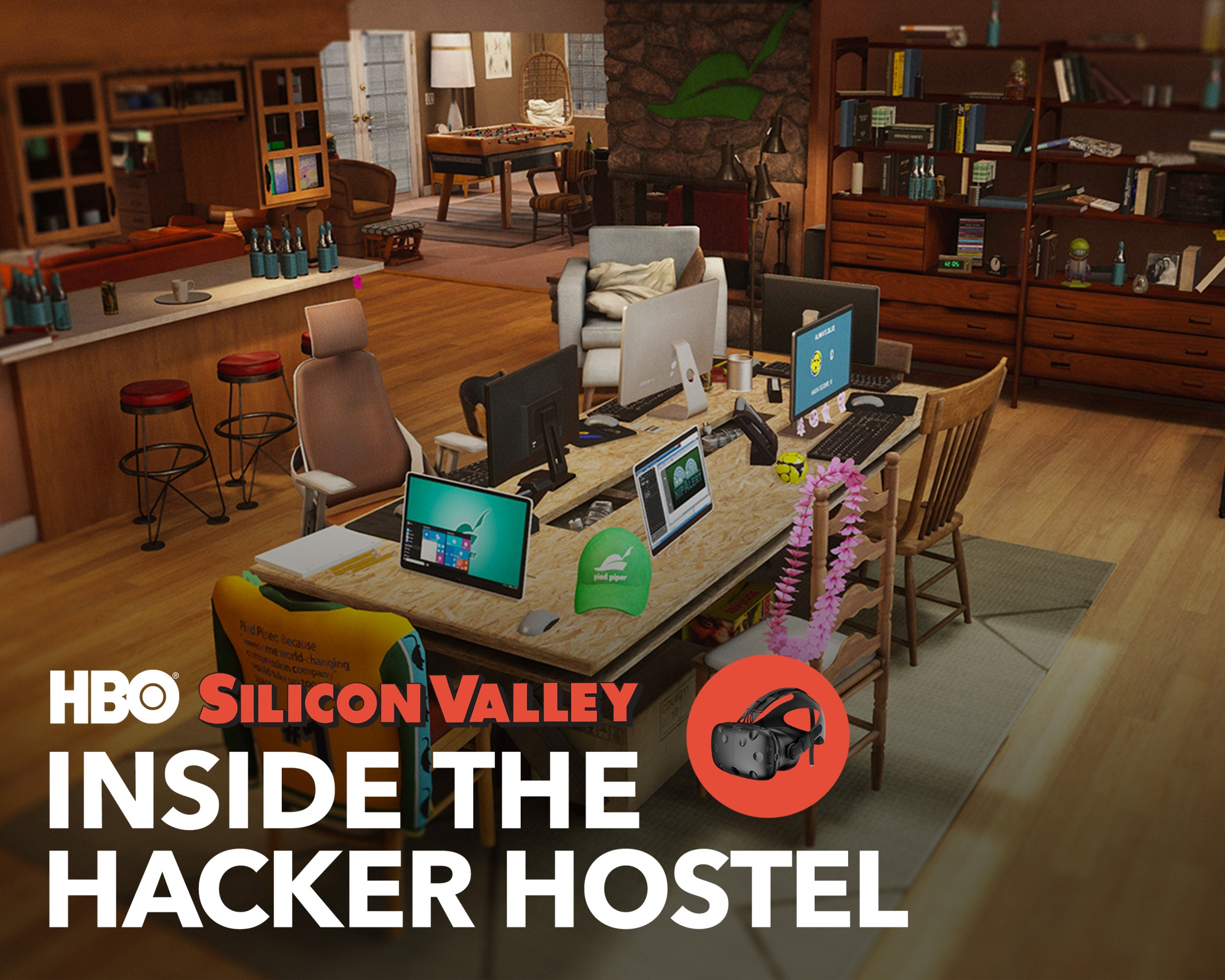 Image Media for Silicon Valley: Inside the Hacker Hostel