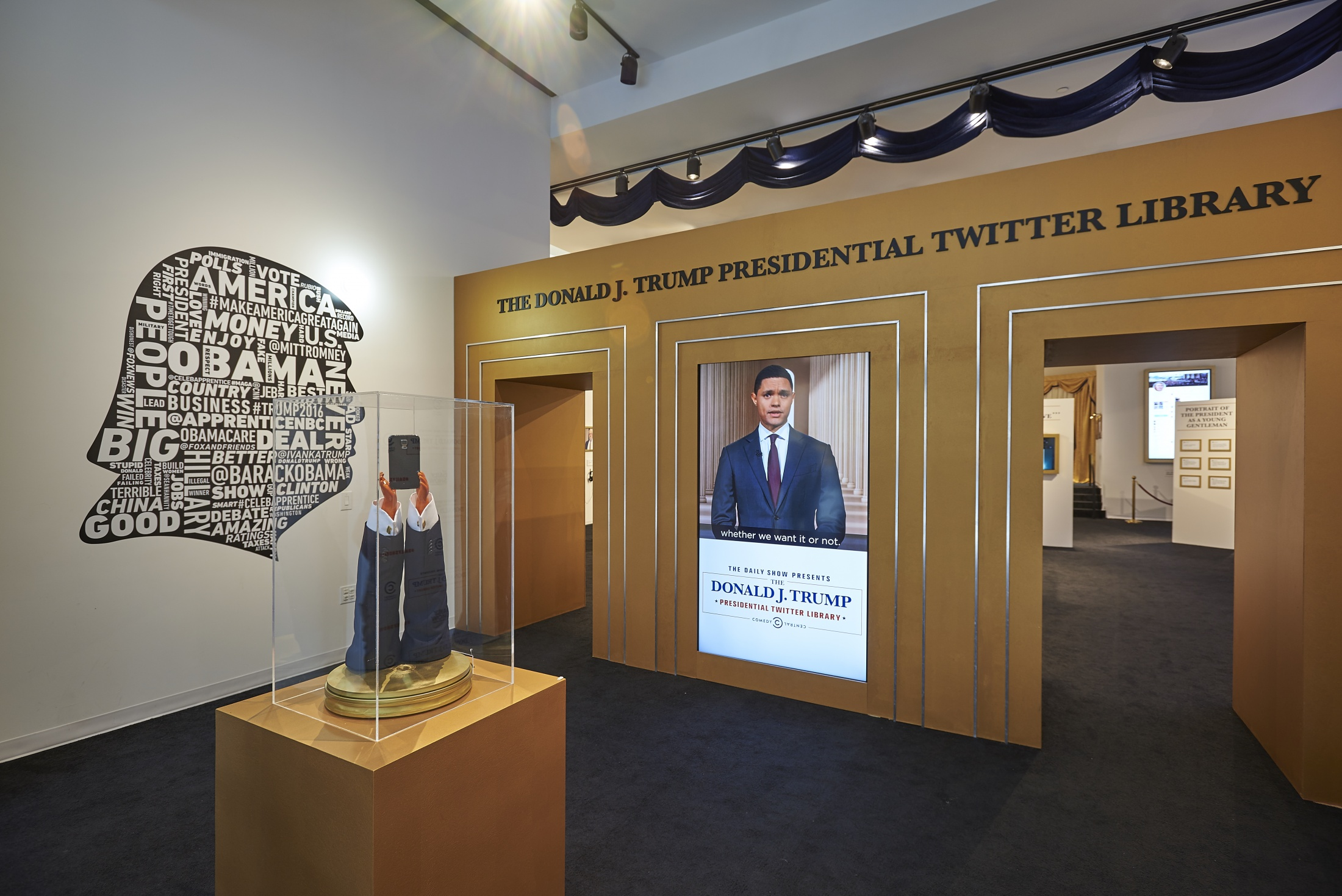 Image Media for THE DAILY SHOW PRESENTS THE DONALD J TRUMP PRESIDENTIAL TWITTER LIBRARY