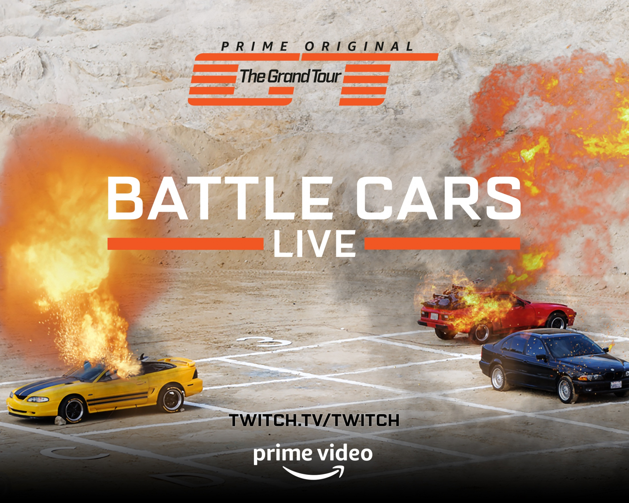 Thumbnail for The Grand Tour Season 2: Battle Cars Live