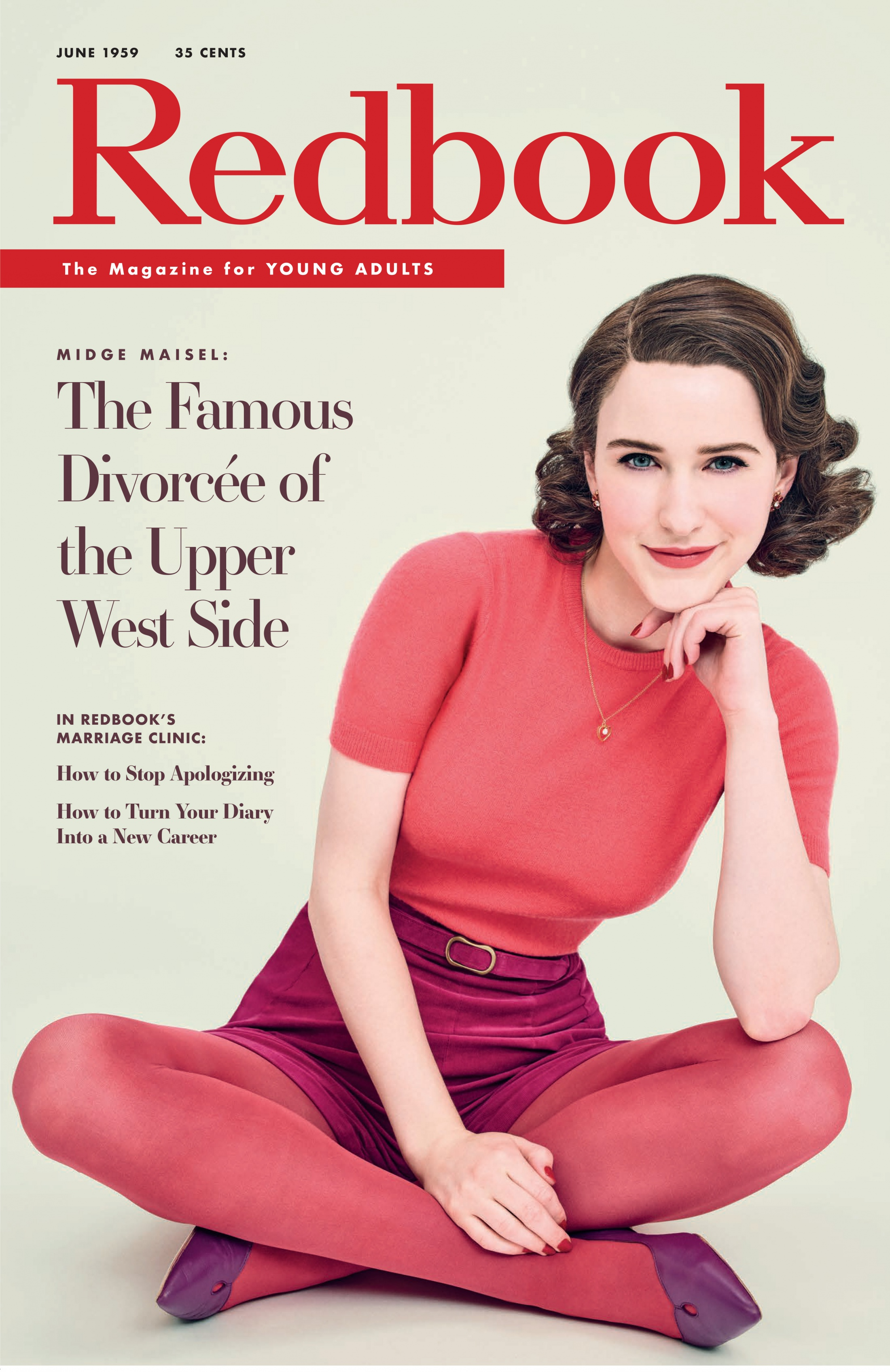 Thumbnail for The Marvelous Mrs. Maisel Magazine Cover Takeover  (Redbook)