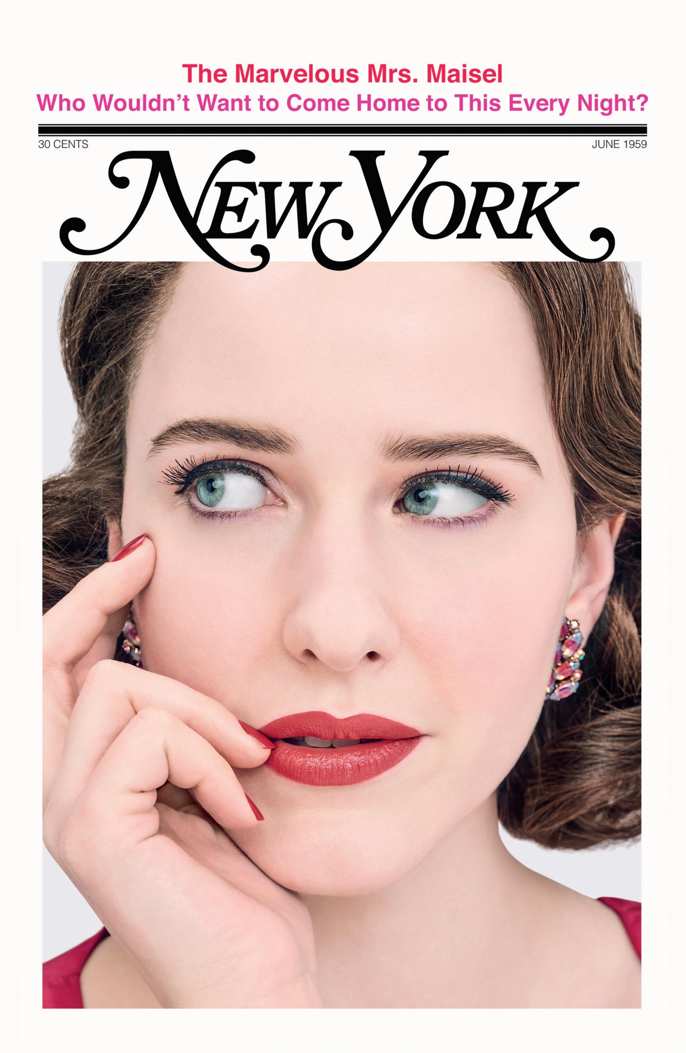 Thumbnail for The Marvelous Mrs. Maisel Magazine Cover Takeover (New York Magazine)