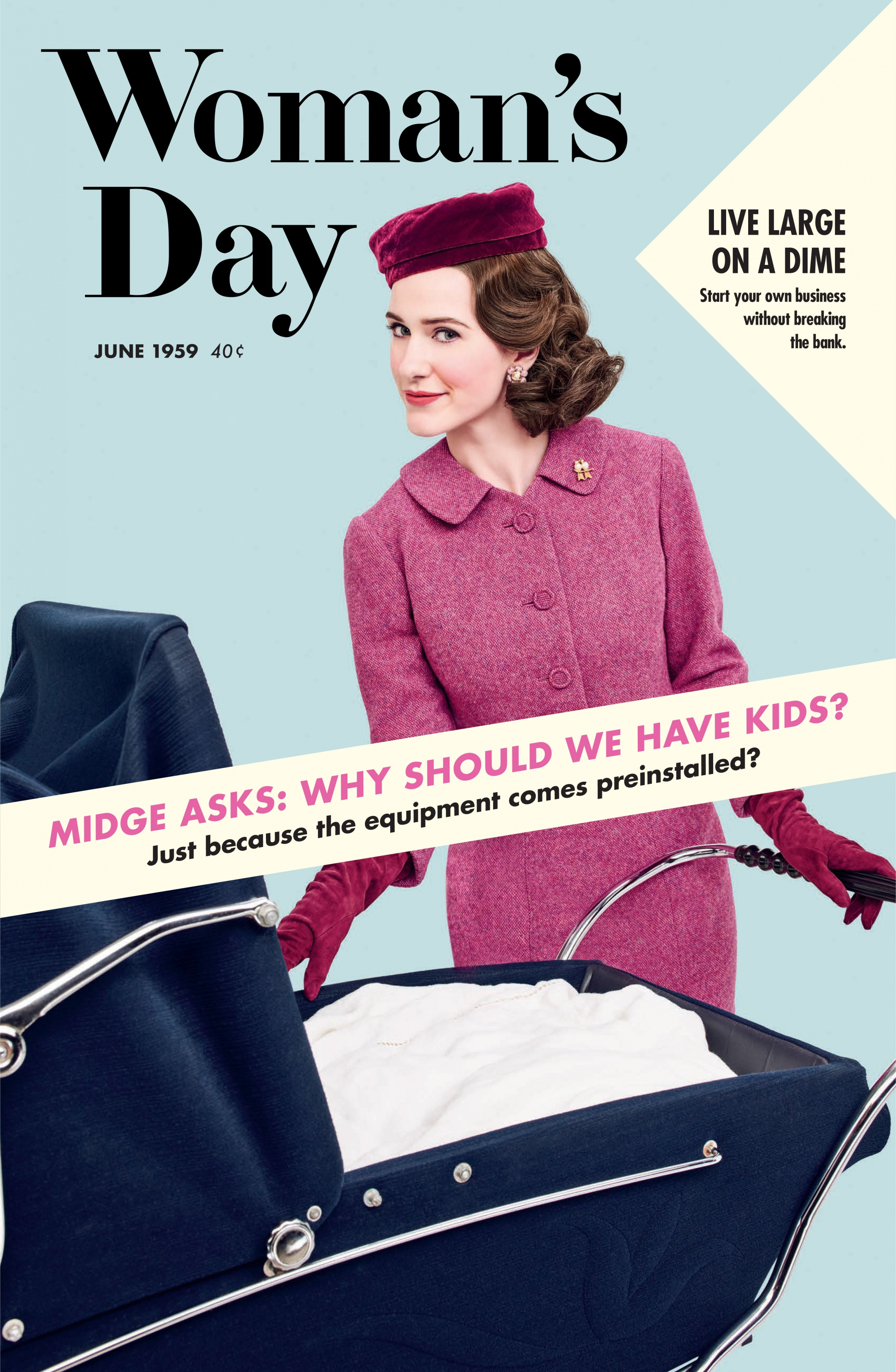 Thumbnail for The Marvelous Mrs. Maisel Magazine Cover Takeover (Woman's Day)