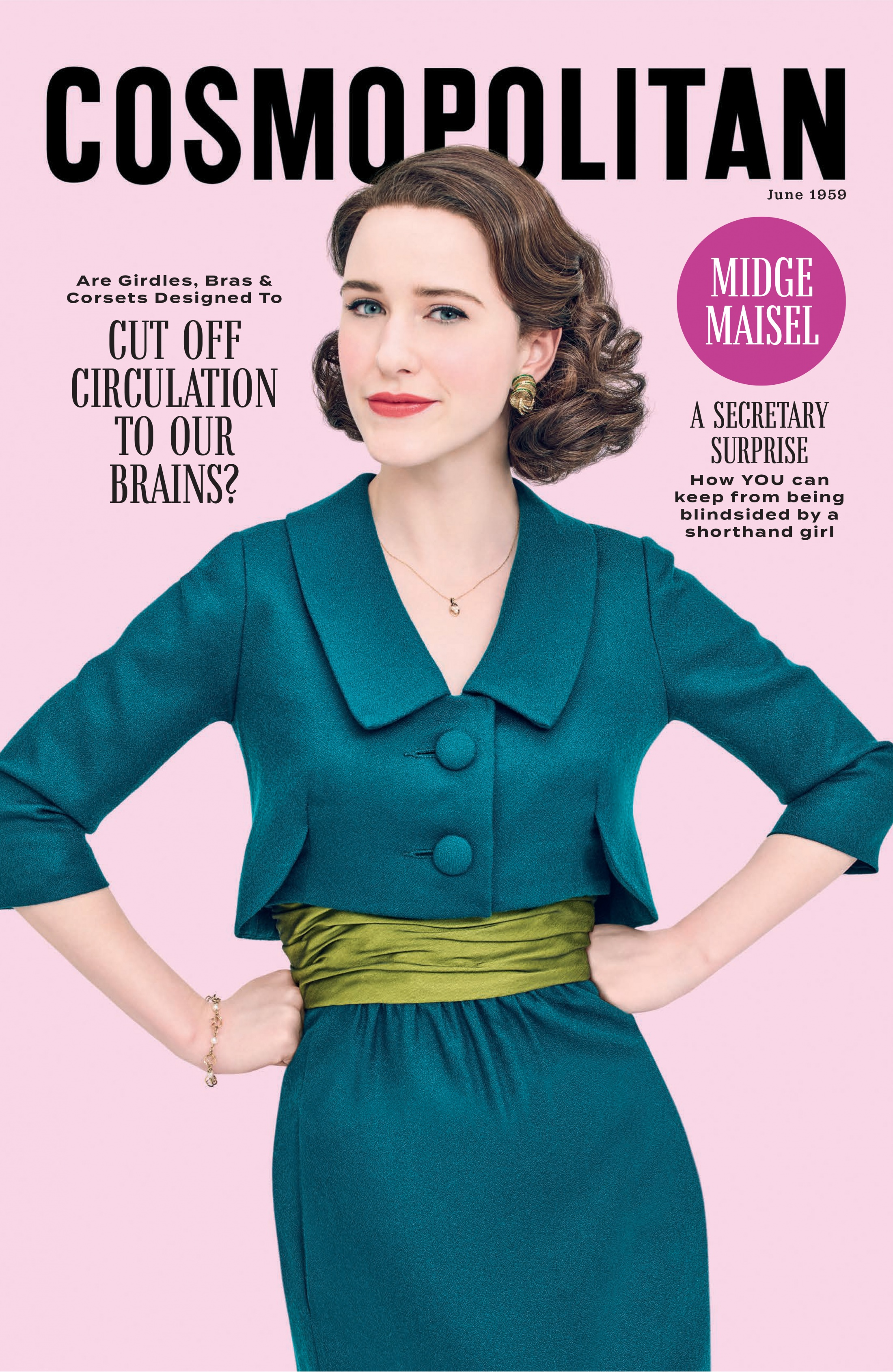 Thumbnail for The Marvelous Mrs. Maisel Magazine Cover Takeover (Cosmo)
