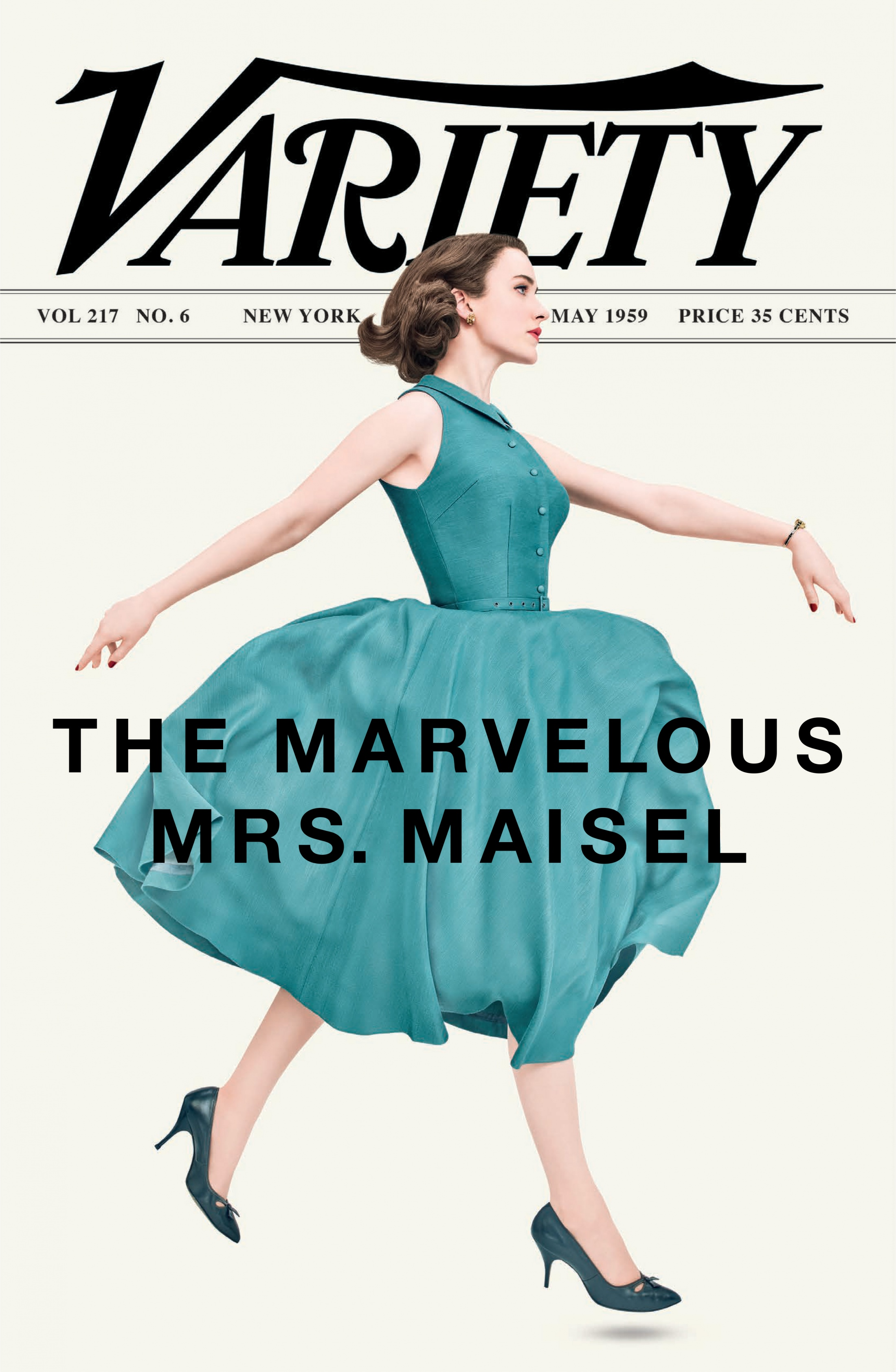 Image Media for The Marvelous Mrs. Maisel Magazine Cover Takeover (Variety)