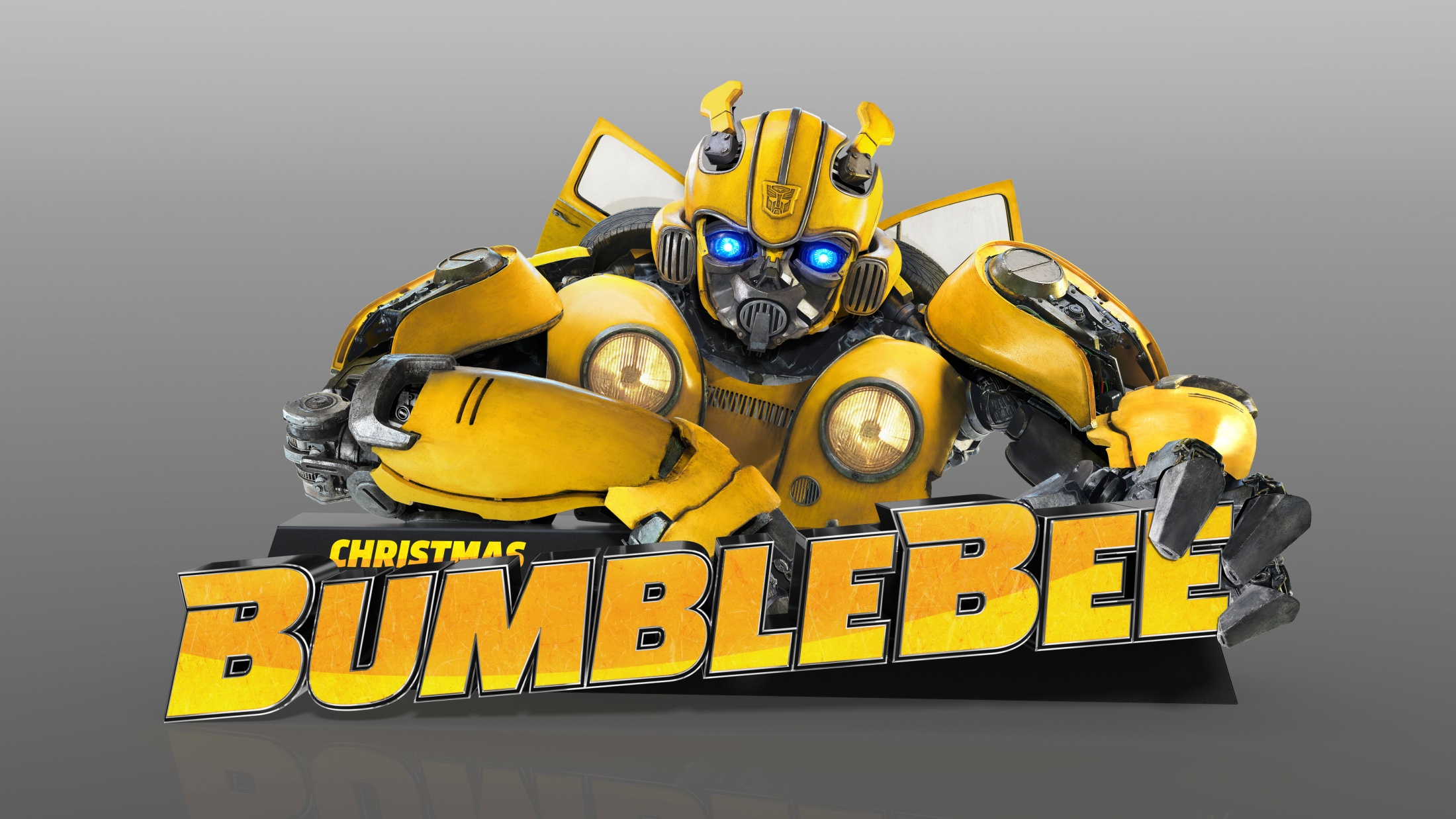 Thumbnail for Bumblebee Standee with Custom Animated AV Eyes