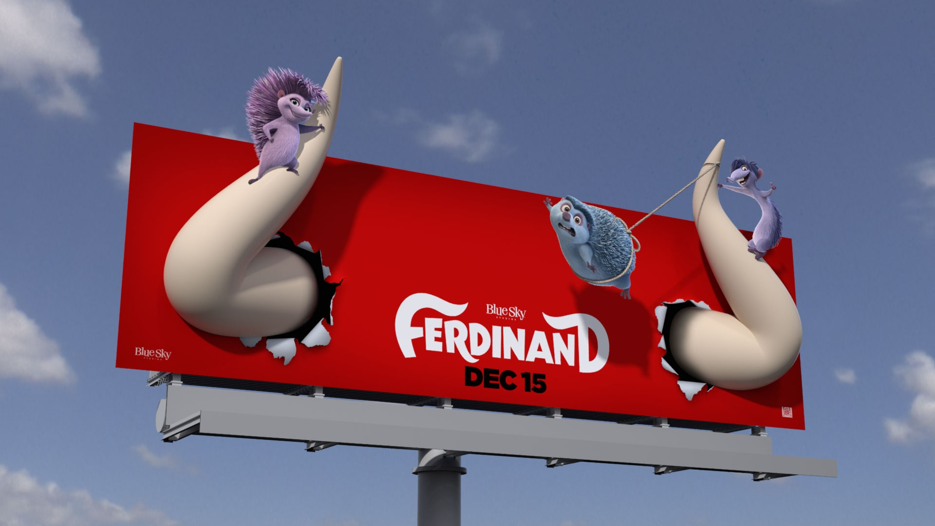 Thumbnail for Ferdinand 3D Billboard