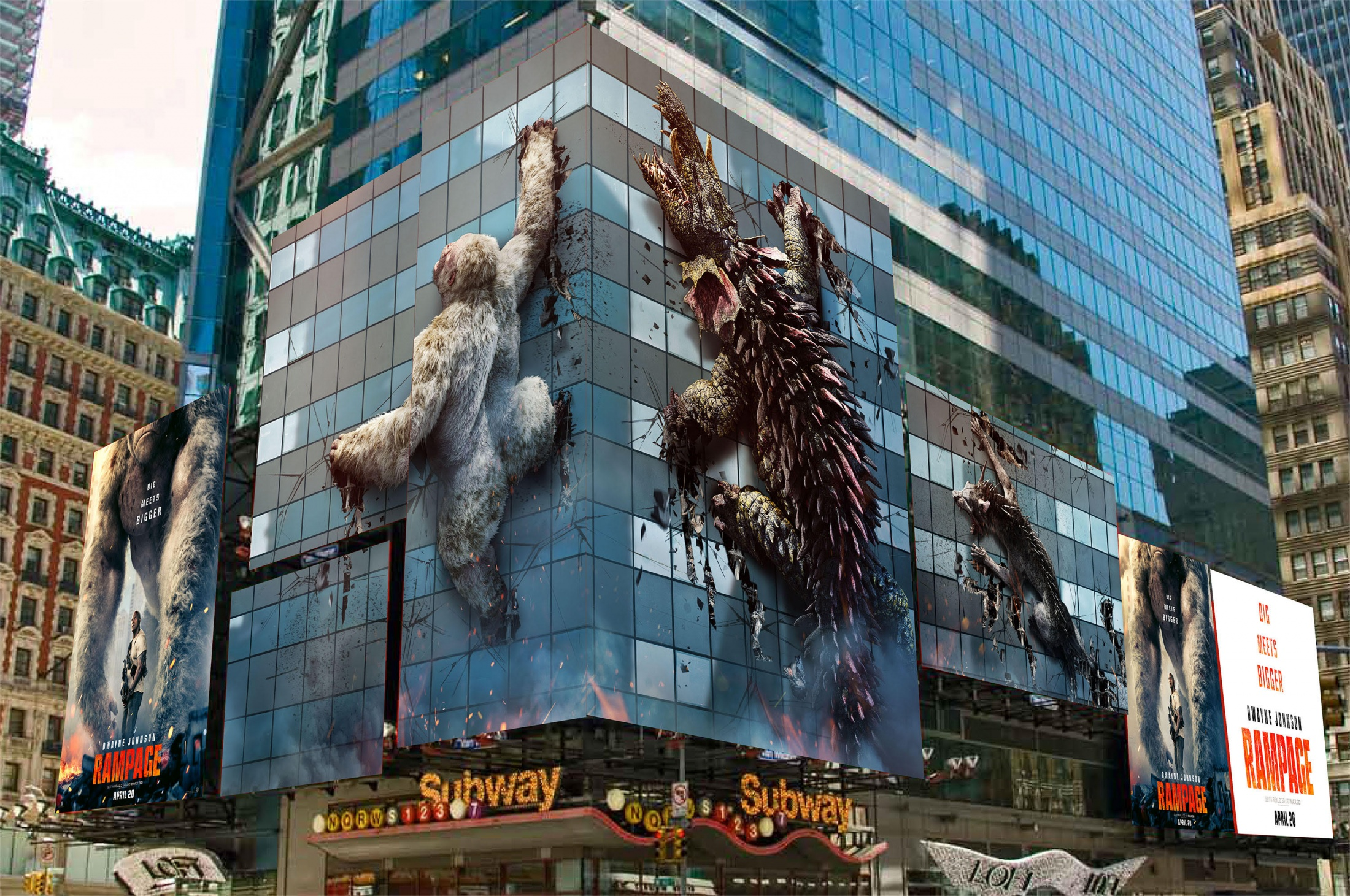 Thumbnail for Rampage - Times Square NYC