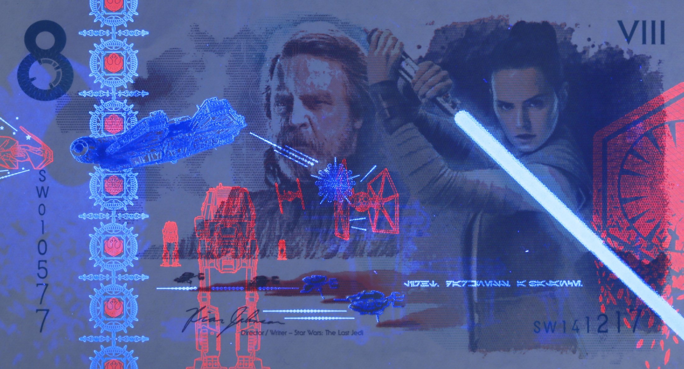 Thumbnail for The Star Wars: The Last Jedi Commemorative Note