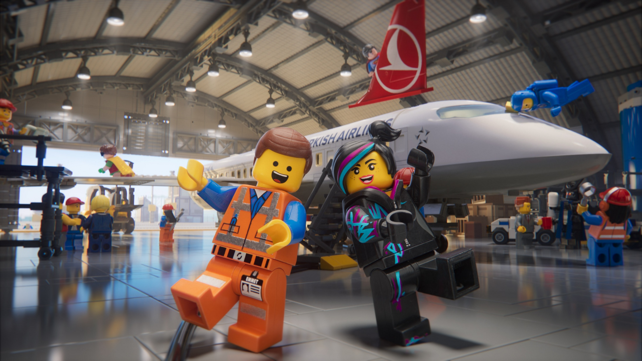 Thumbnail for The LEGO Movie 2/Turkish Airlines Safety Video
