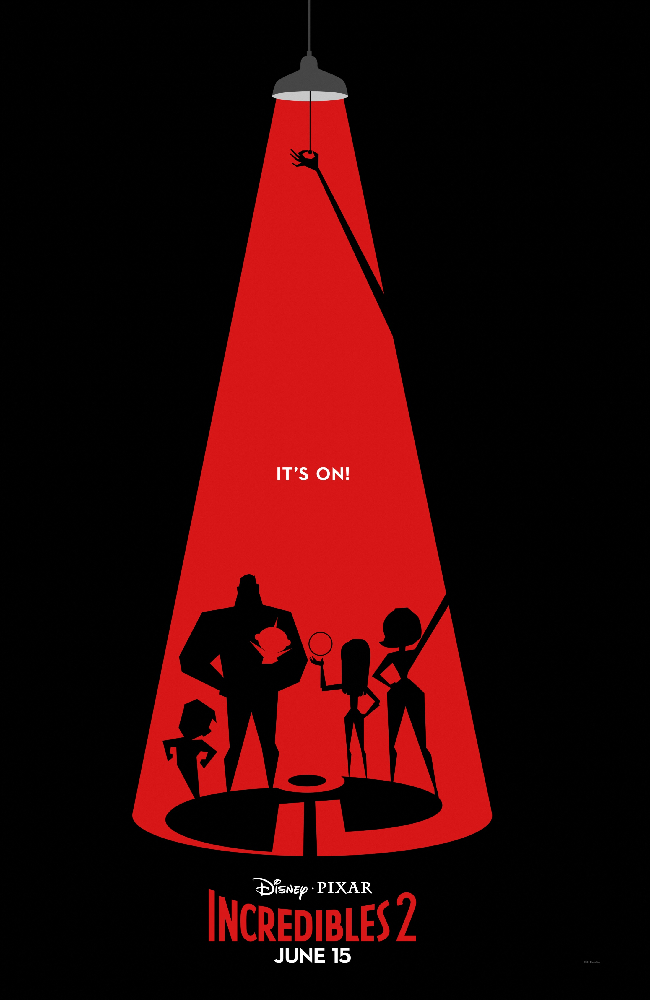 Image Media for Incredibles 2 Exclusive Graphic Poster Series Campaign