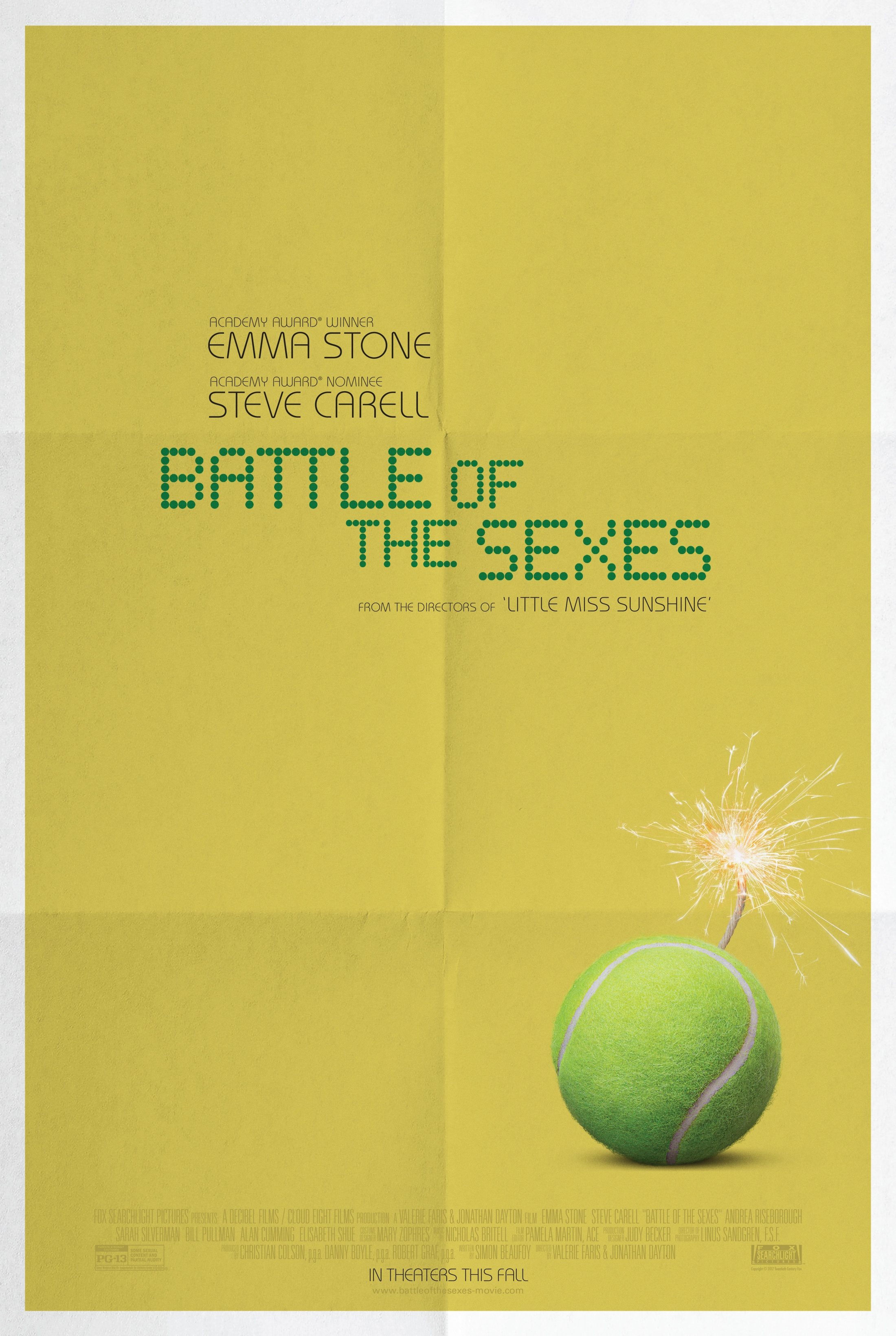 Thumbnail for Battle of the Sexes: One-sheet Teaser