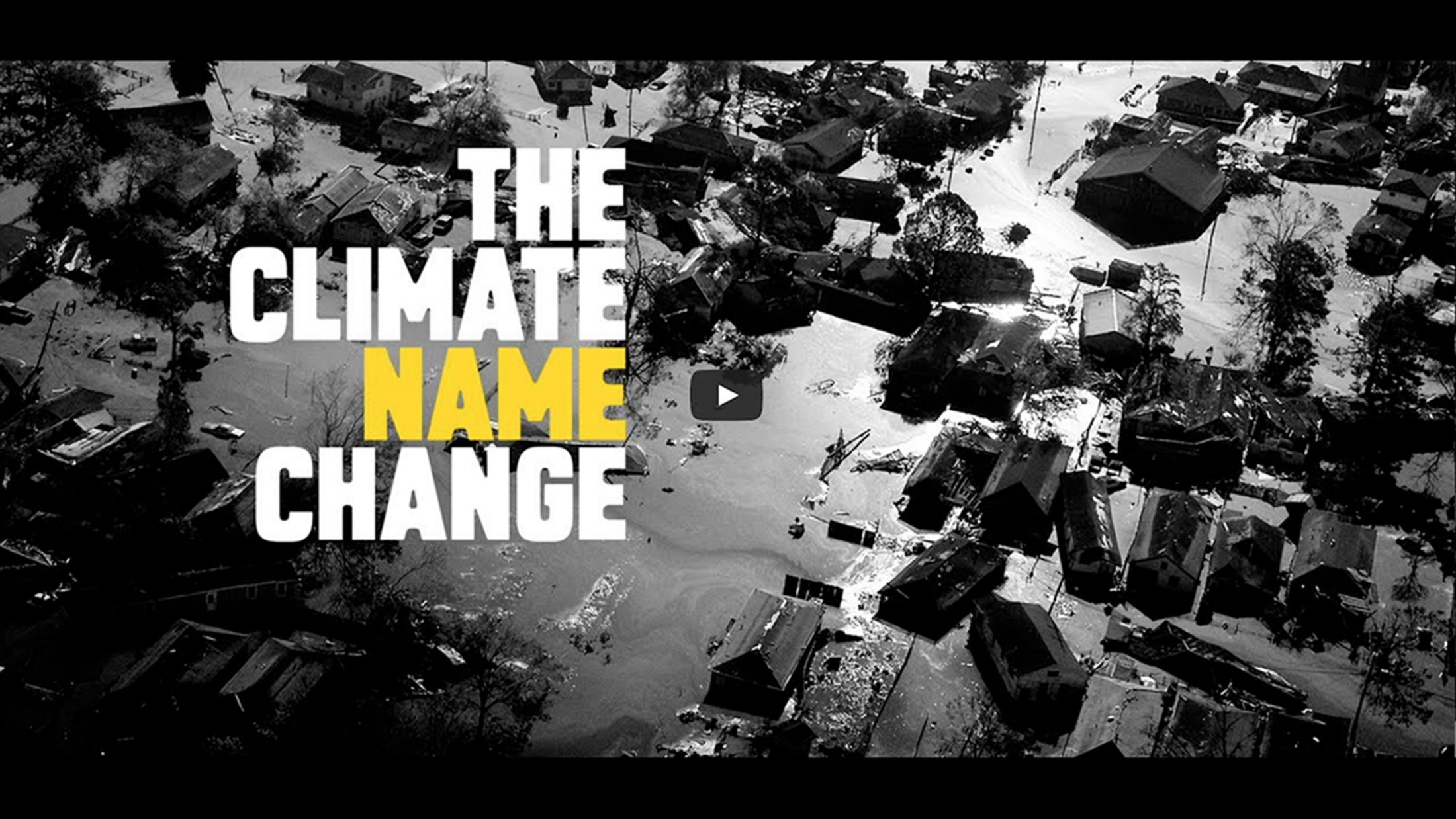 Thumbnail for Climate Name Change