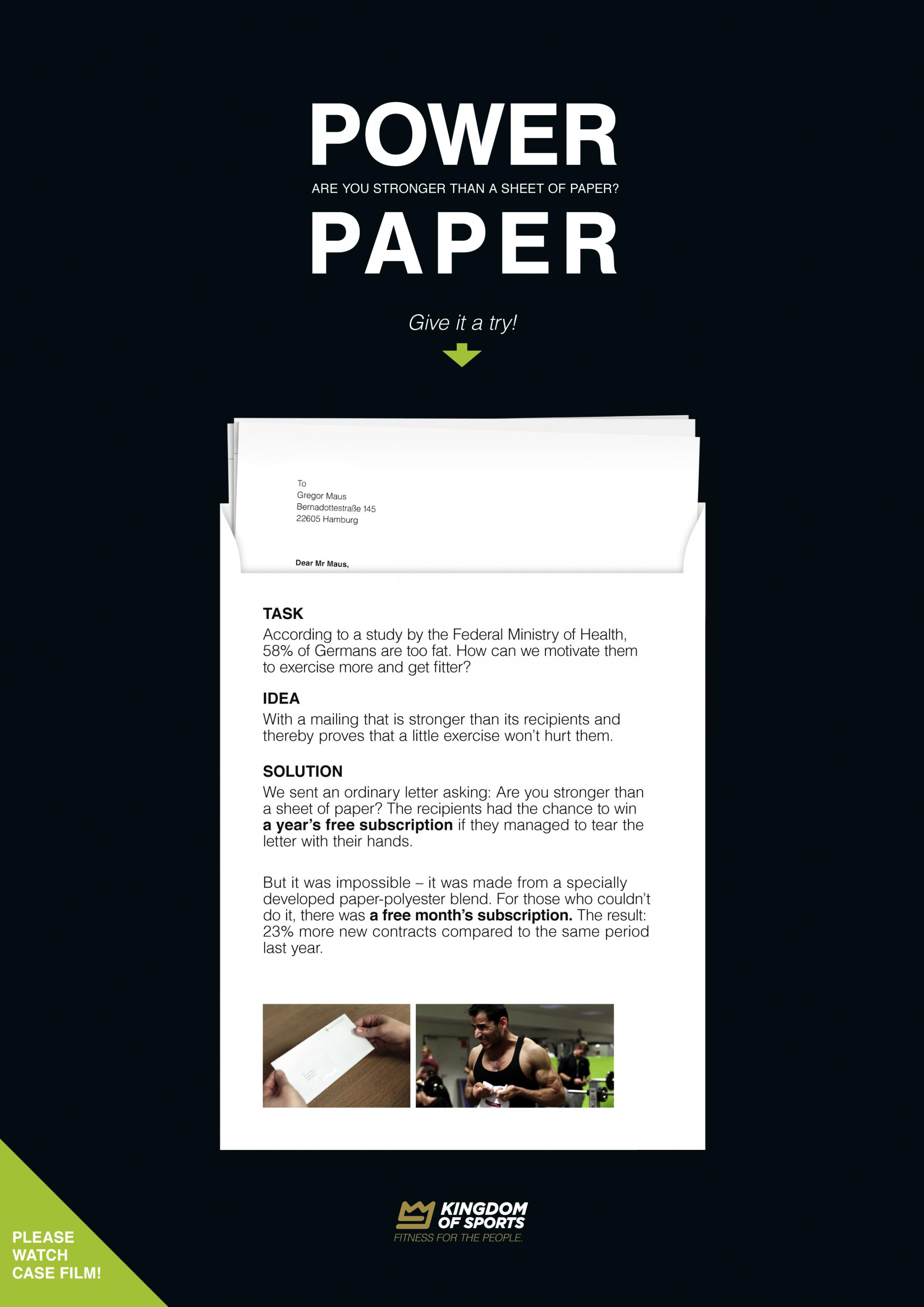Image Media for The Power Paper
