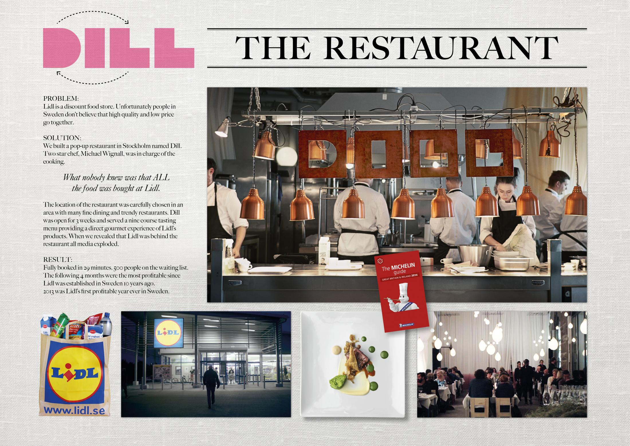 Thumbnail for Dill - The restaurant.