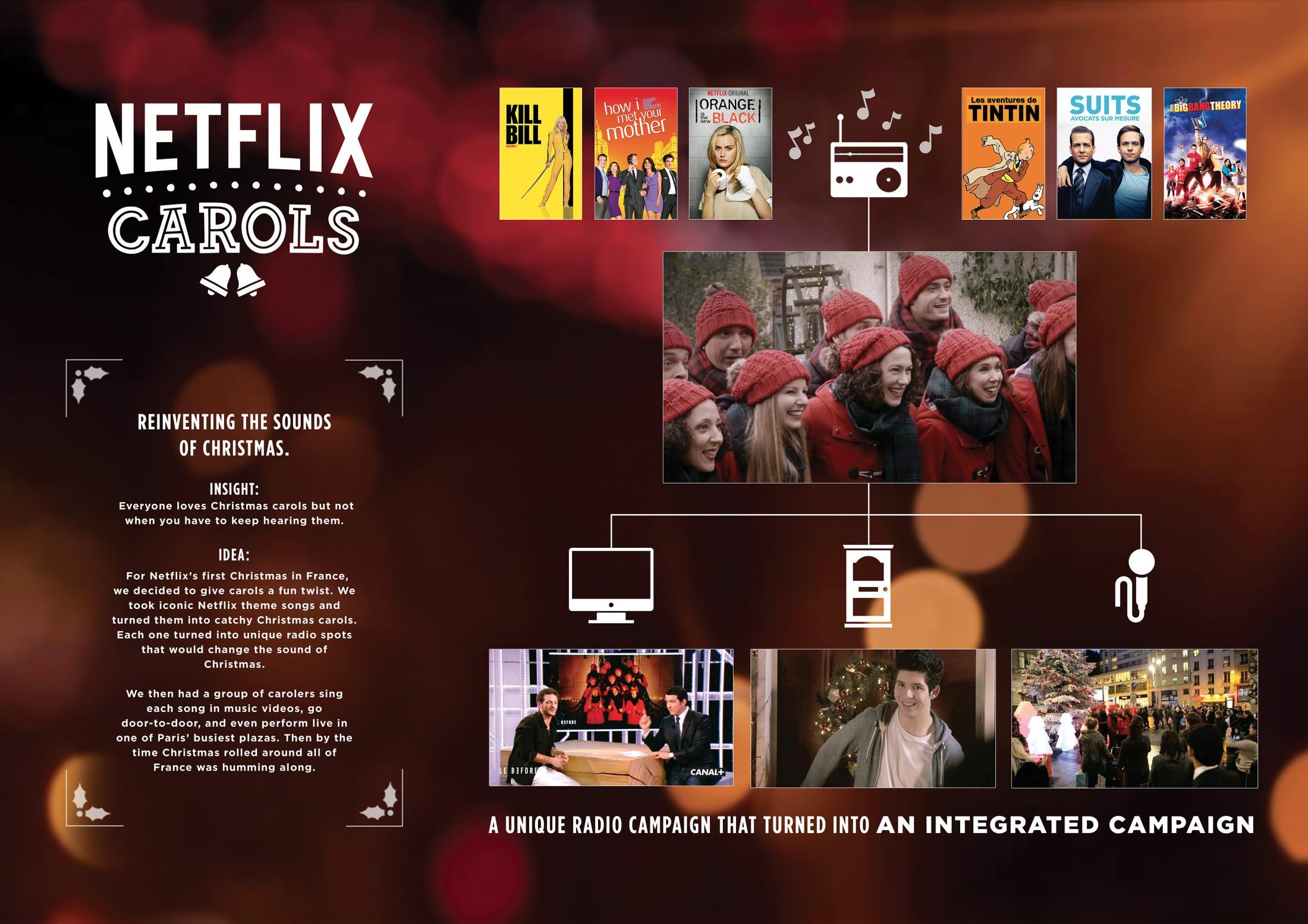 Thumbnail for NETFLIX CHRISTMAS CAROLS -  KILL BILL