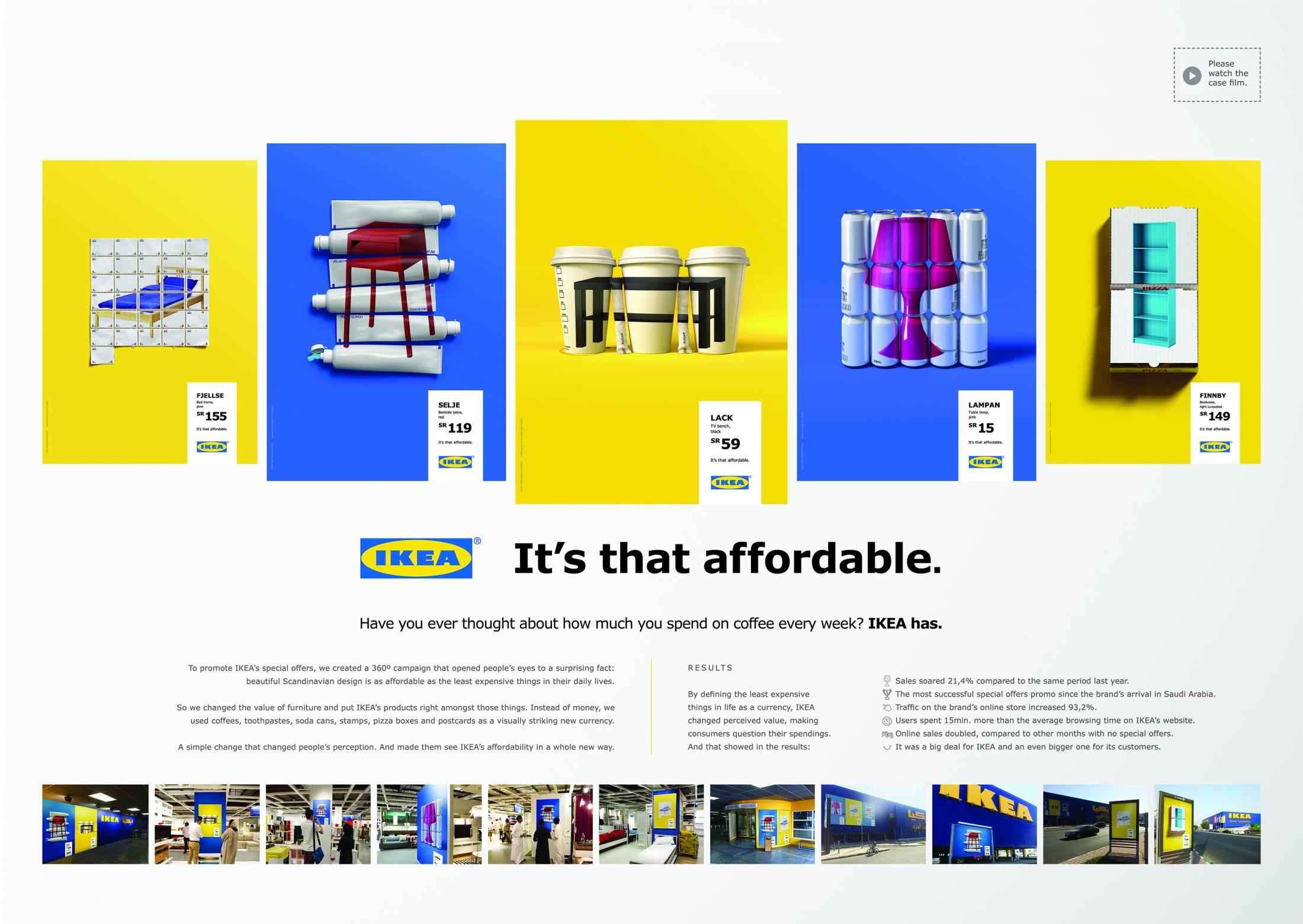 Thumbnail for IKEA. It's that affordable.