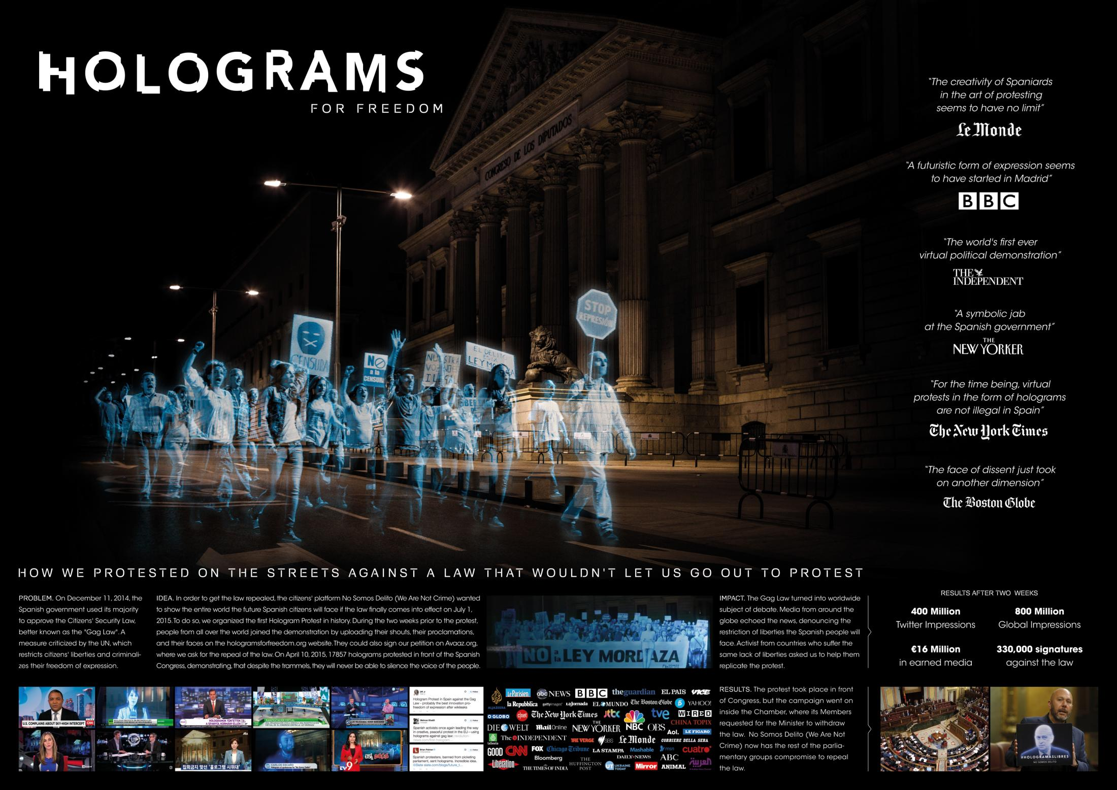 Image Media for Holograms for Freedom