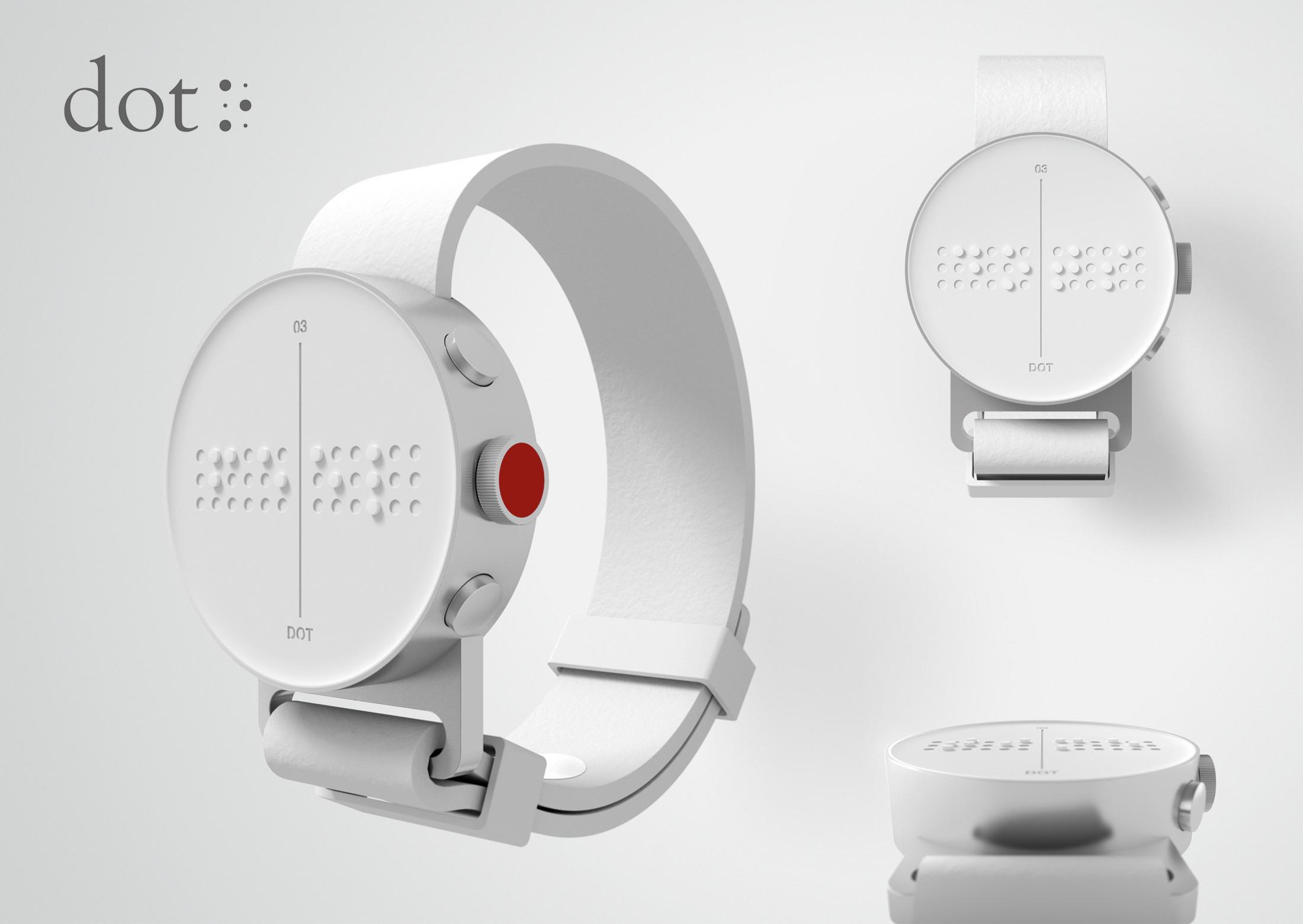 Thumbnail for DOT. The first Braille Smartwatch