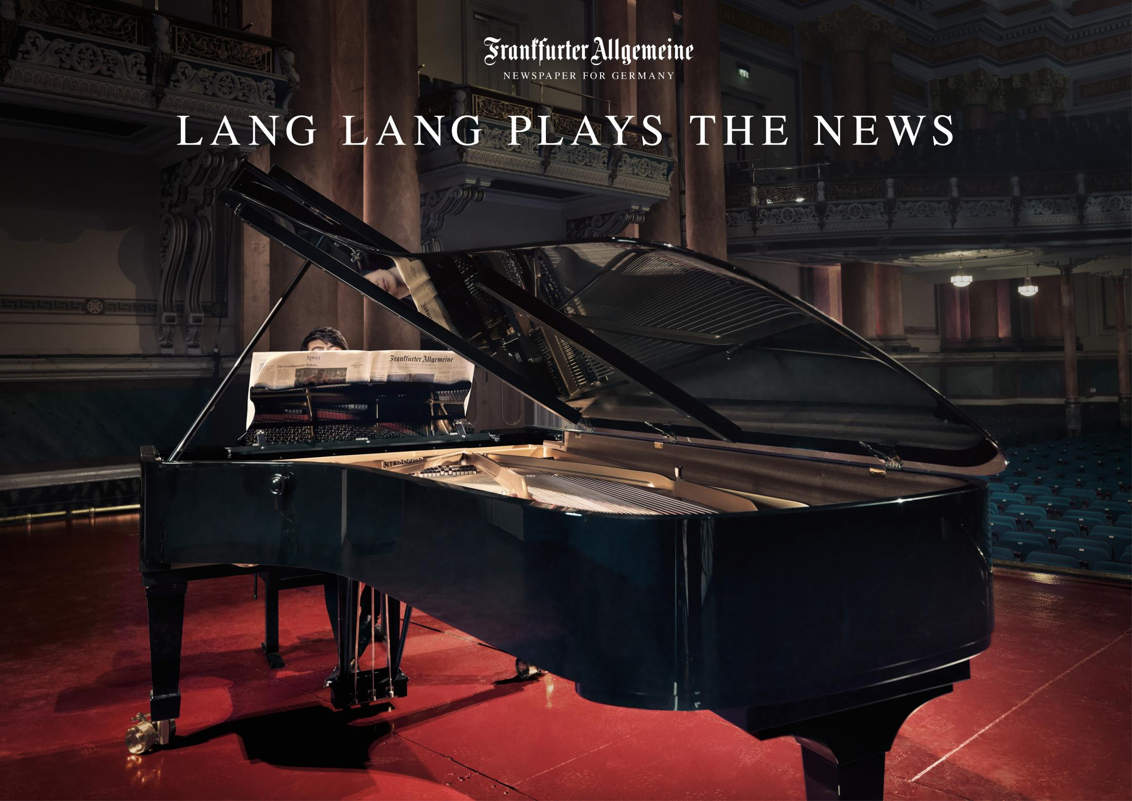 Thumbnail for Lang Lang plays the F.A.Z. - Germany's leading newspaper