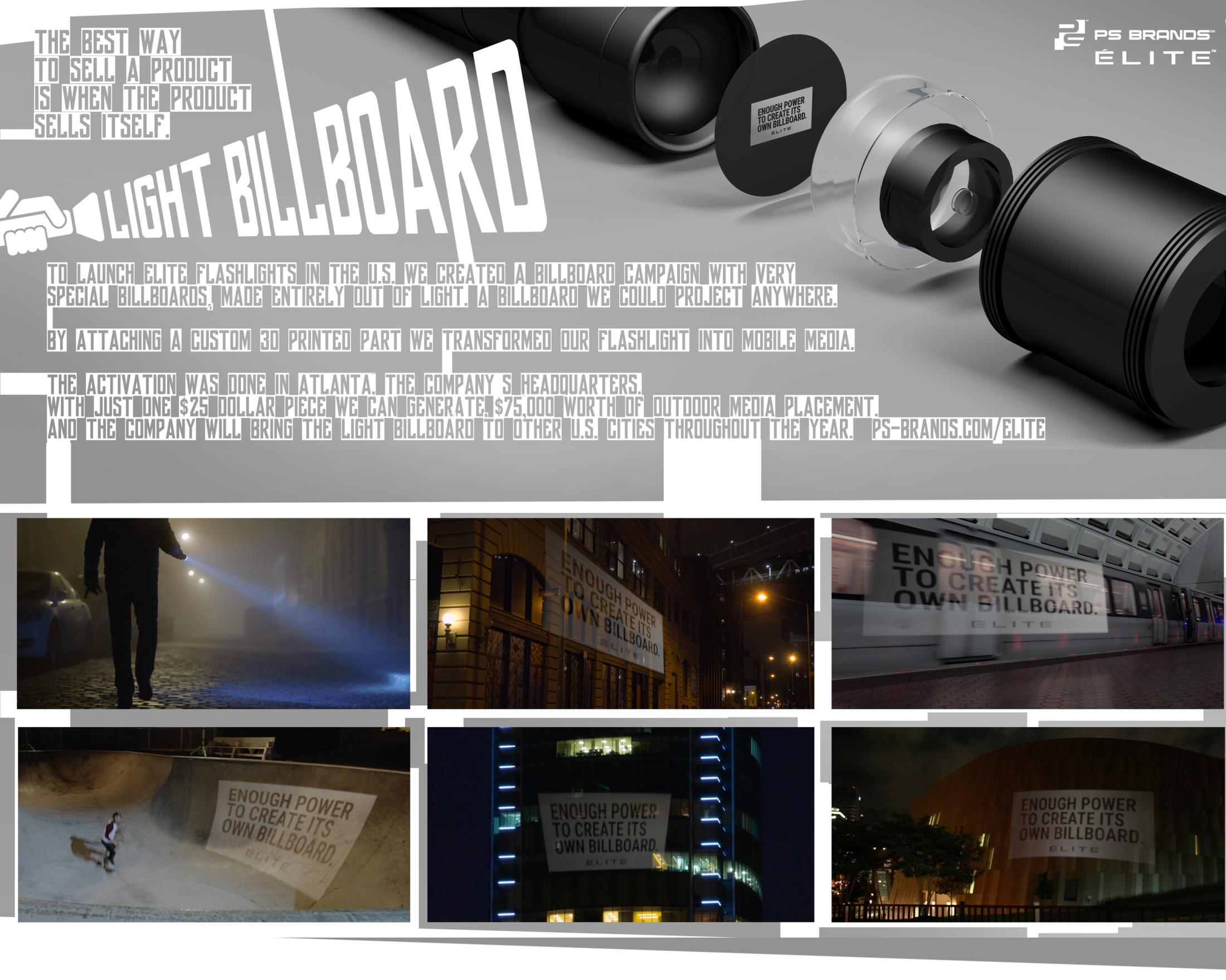 Image Media for Flashlight Billboard