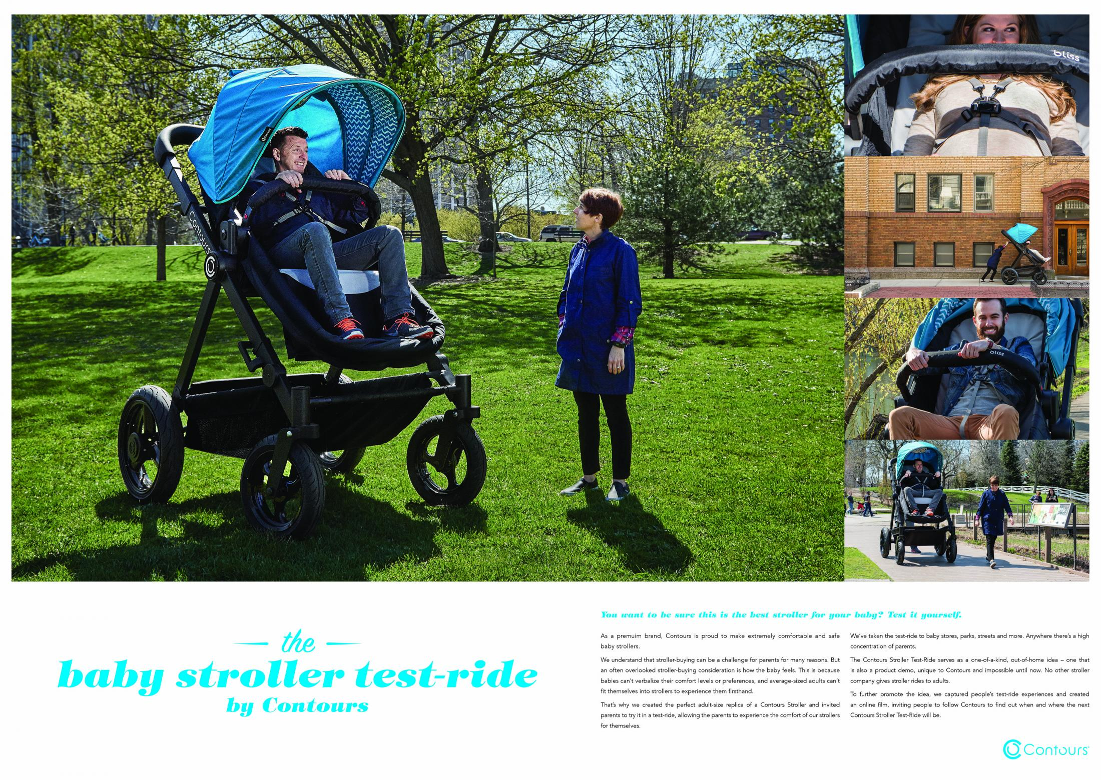Thumbnail for The Baby Stroller Test-Ride by Contours Strollers