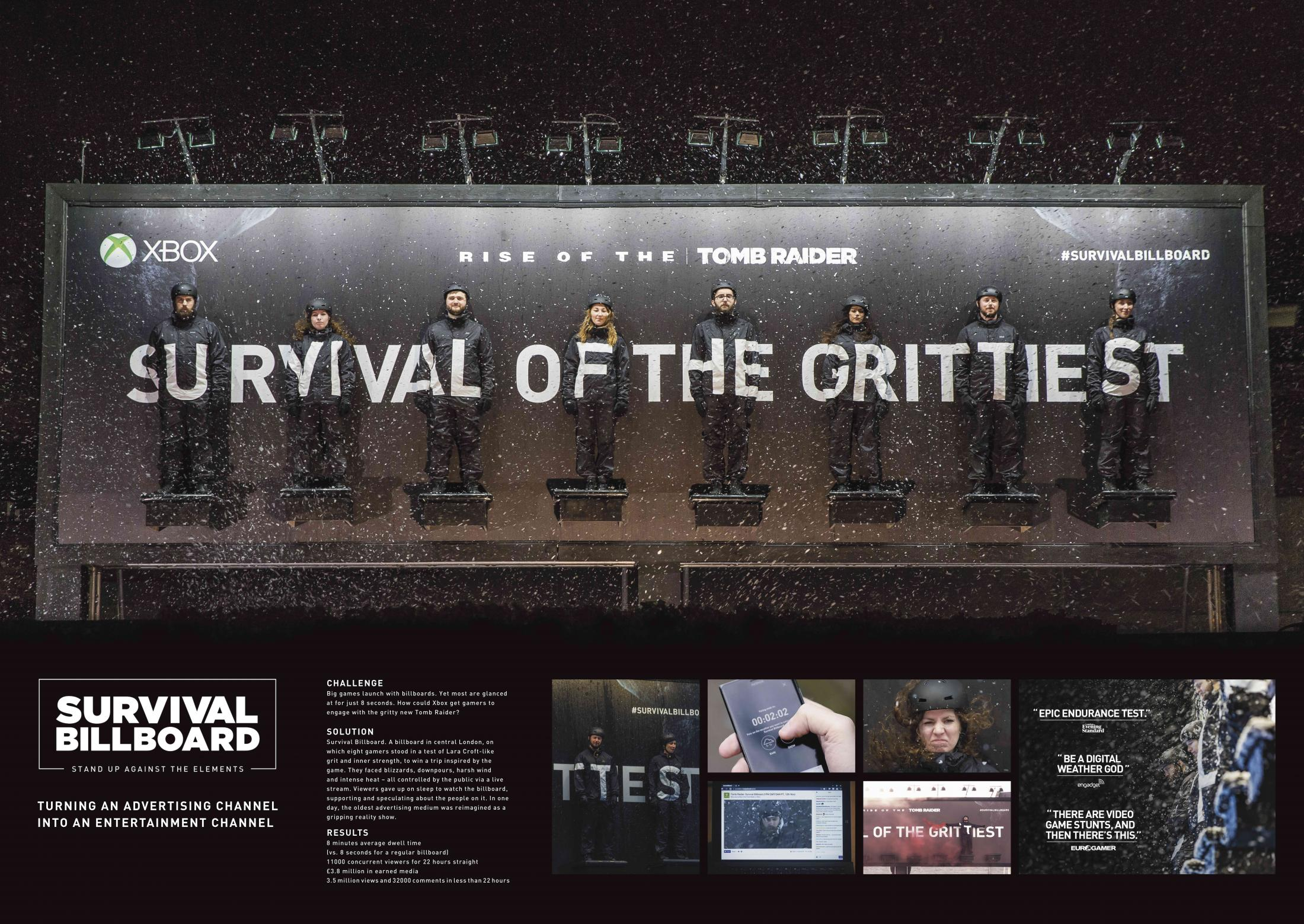 Image Media for Survival Billboard
