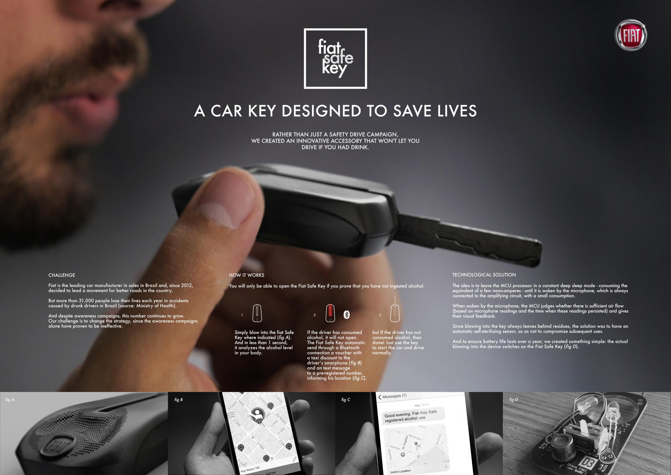 Thumbnail for Fiat Safe Key