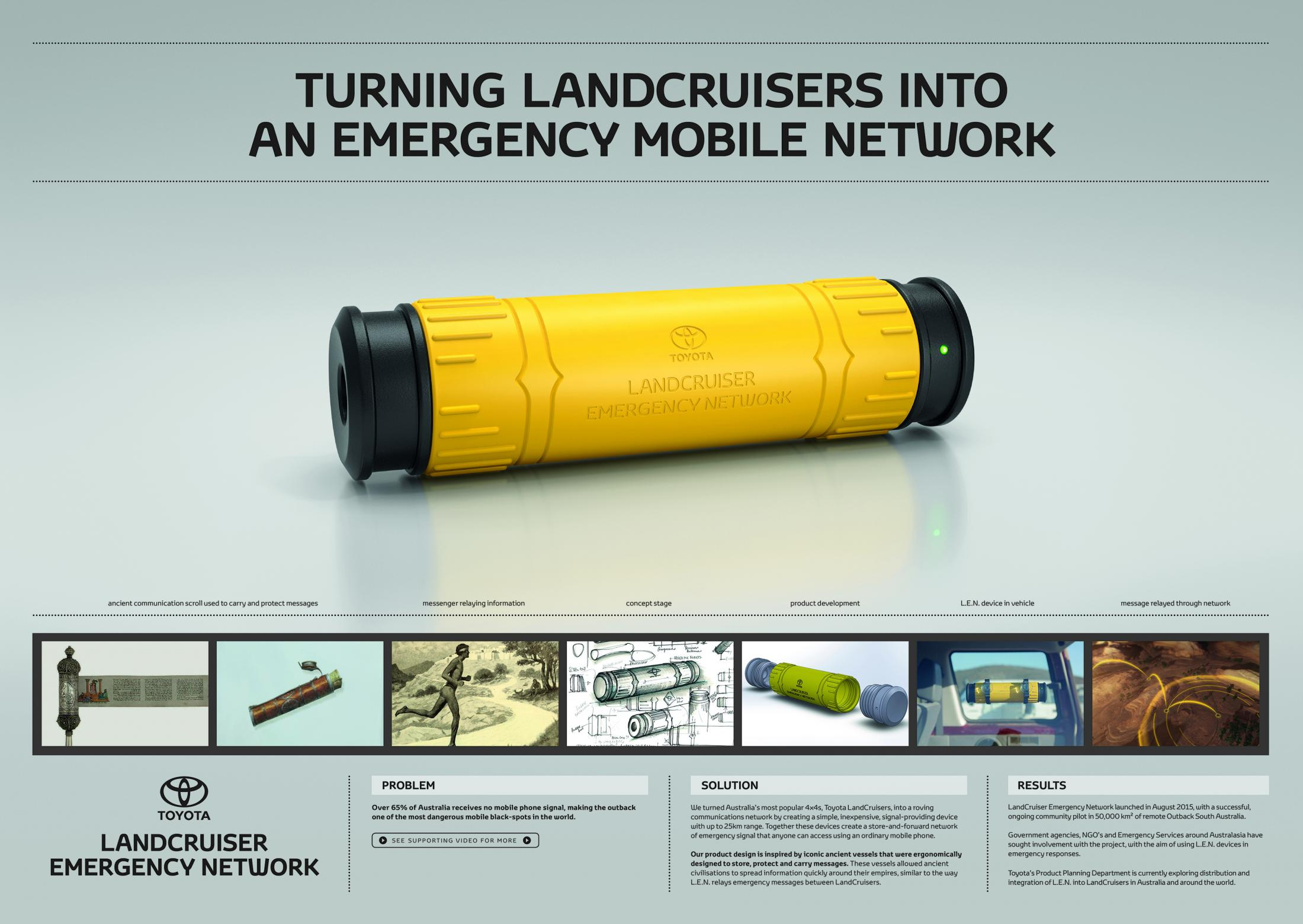 Thumbnail for LandCruiser Emergency Network