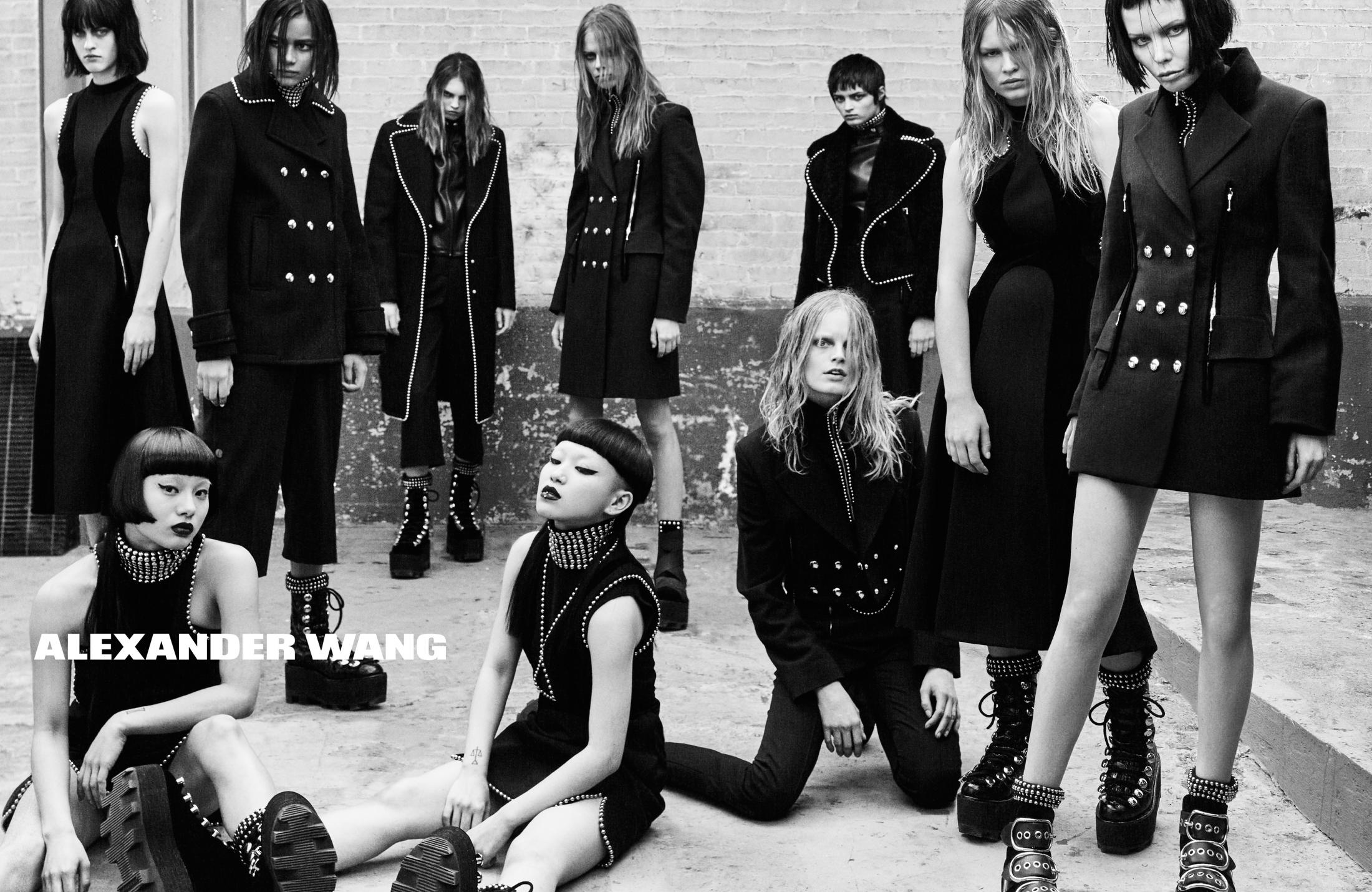 Image Media for Alexander Wang Fall/Winter 2015