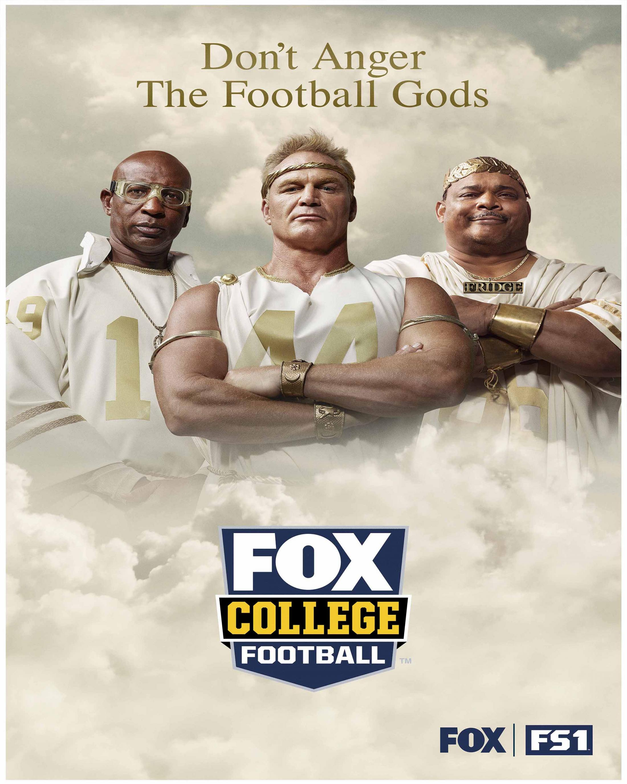 Thumbnail for College Football on FOX/FS1: Integrated Campaign