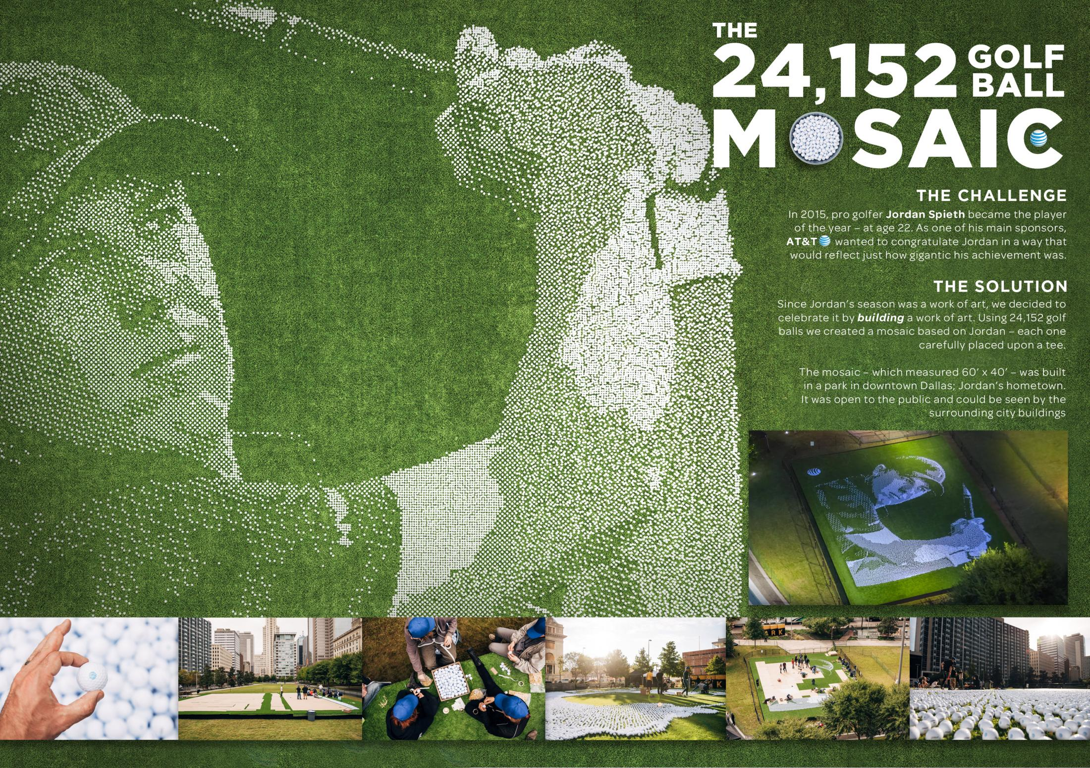 Thumbnail for The 24,152 Golf Ball Mosaic