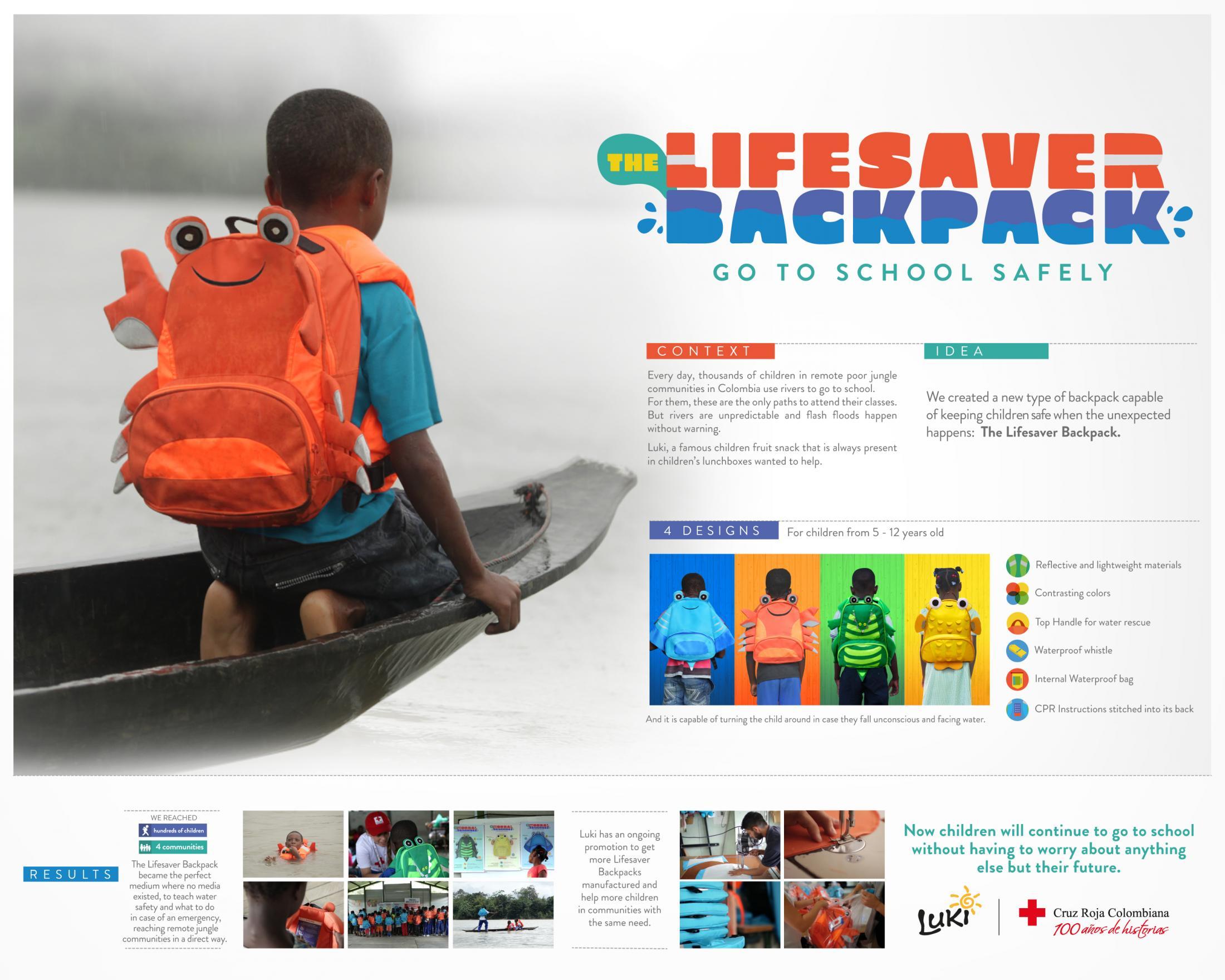 Thumbnail for Lifesaver Backpack