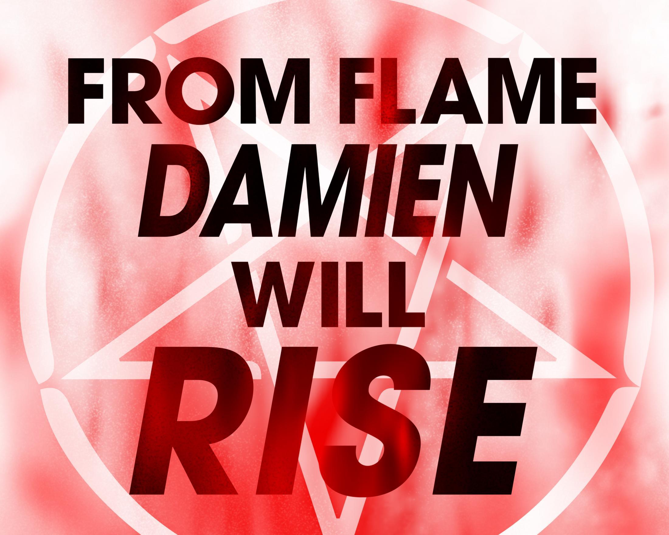 Thumbnail for Damien Comic-Con Stunt