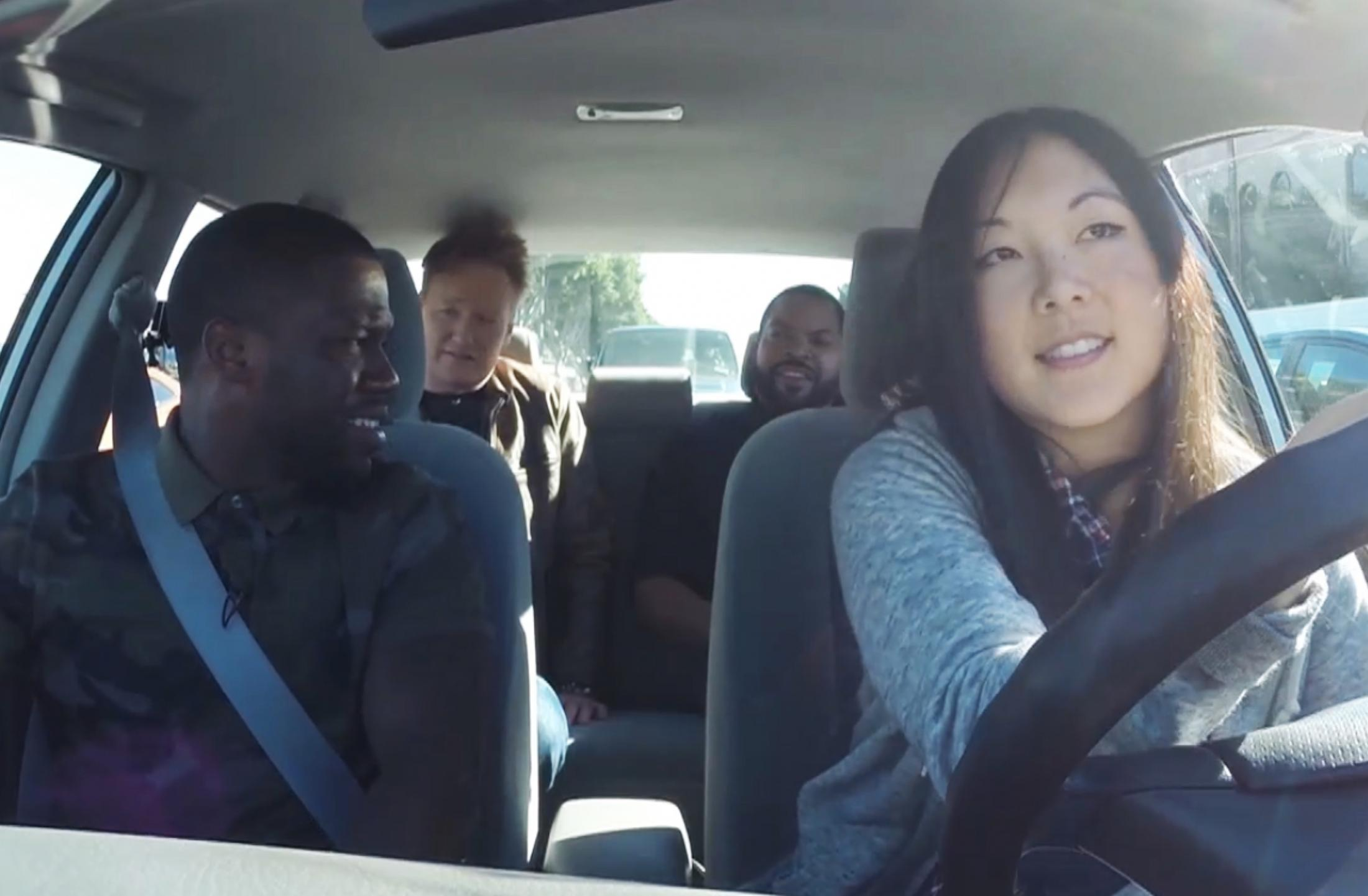 Thumbnail for Conan Ride Along with Kevin Hart and Ice Cube