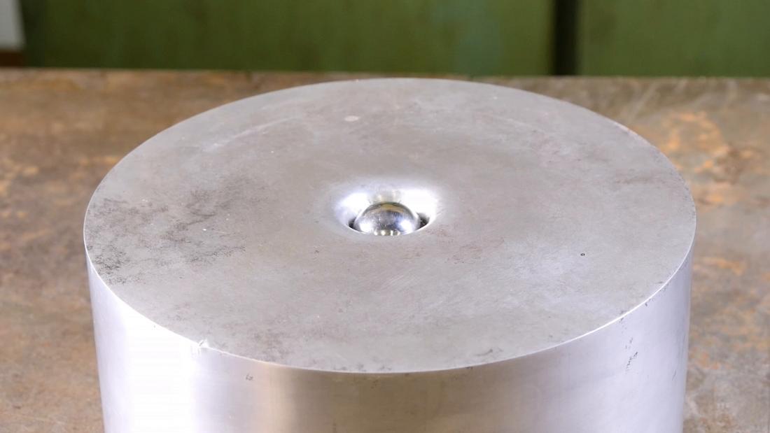 Thumbnail for Crushing Adamantium with Hydraulic Press