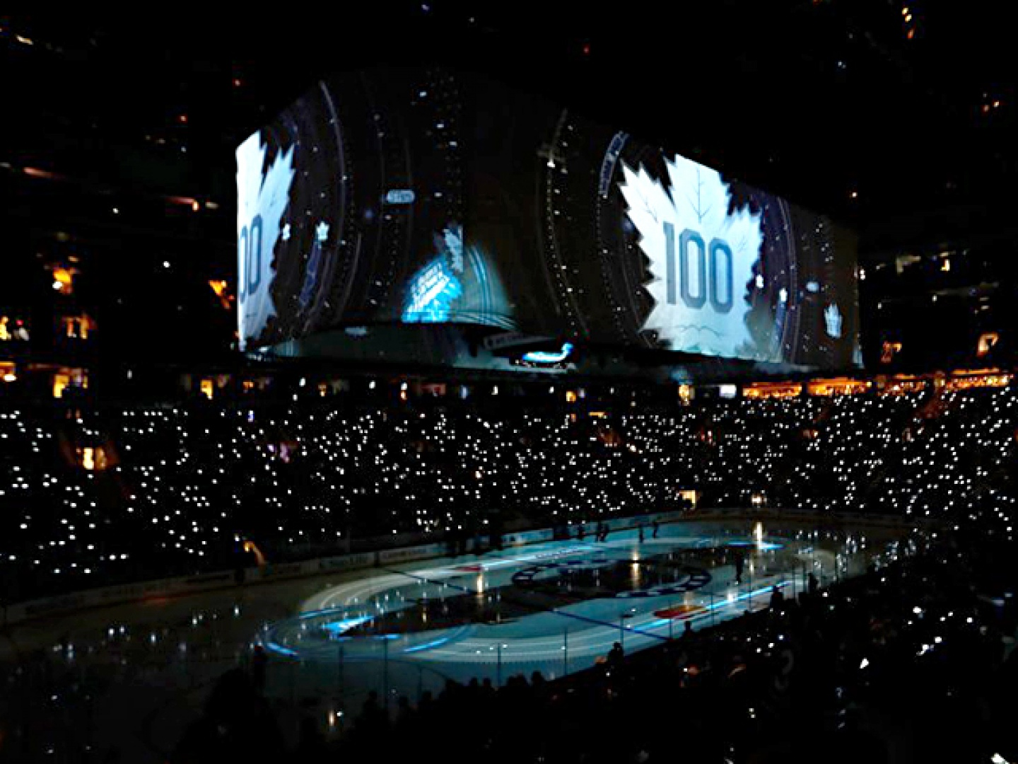 Toronto Maple Leafs Centennial In-Arena Opening Thumbnail