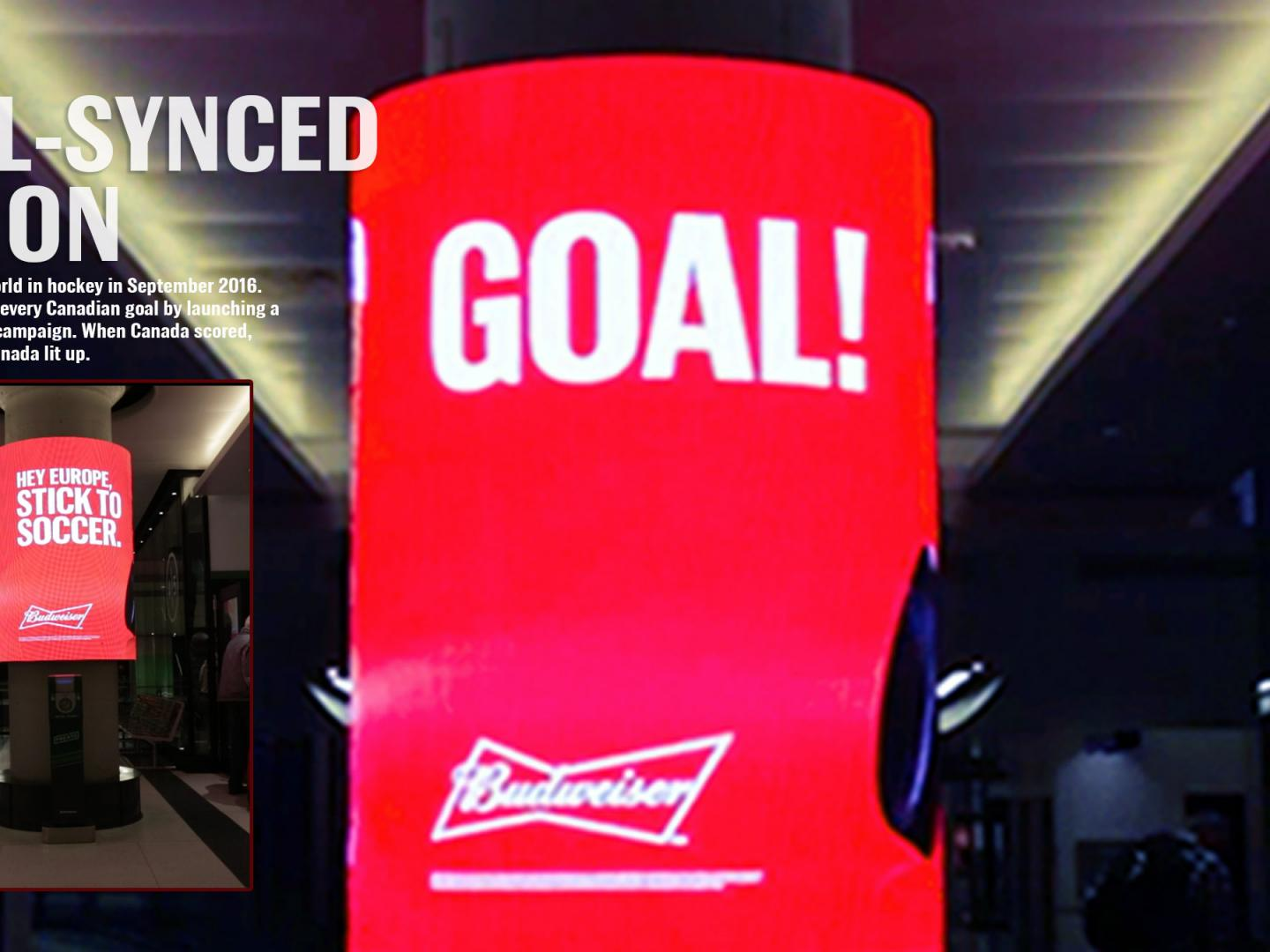 Budweiser Goal-Synced Nation Thumbnail