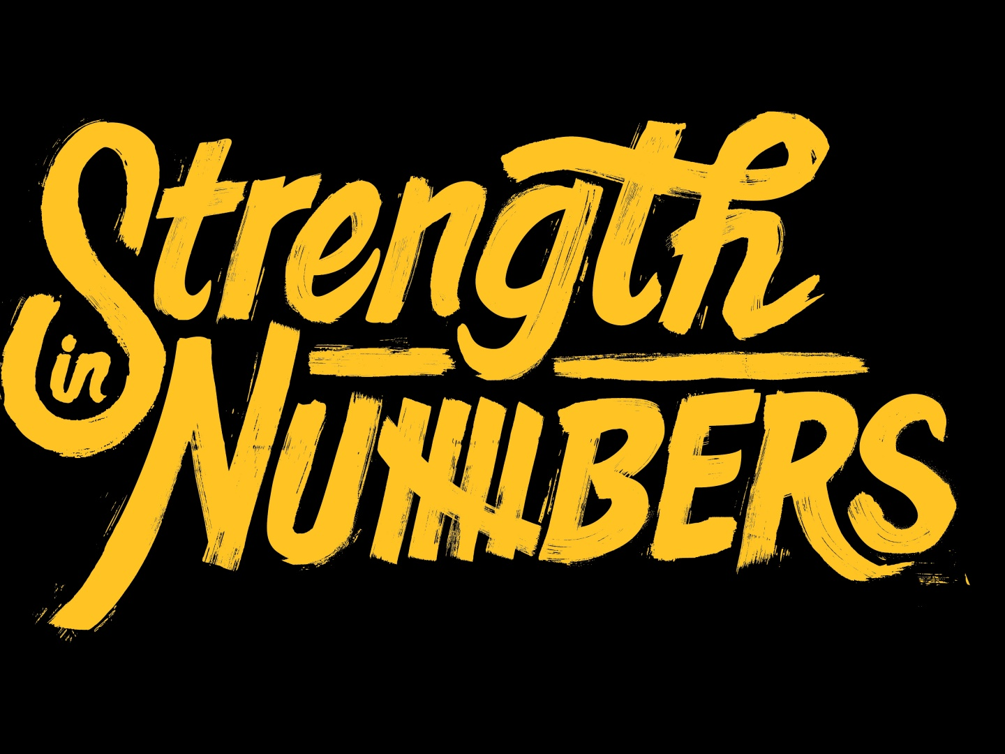 2016 Playoffs Strength In Numbers Integrated Campaign  Thumbnail